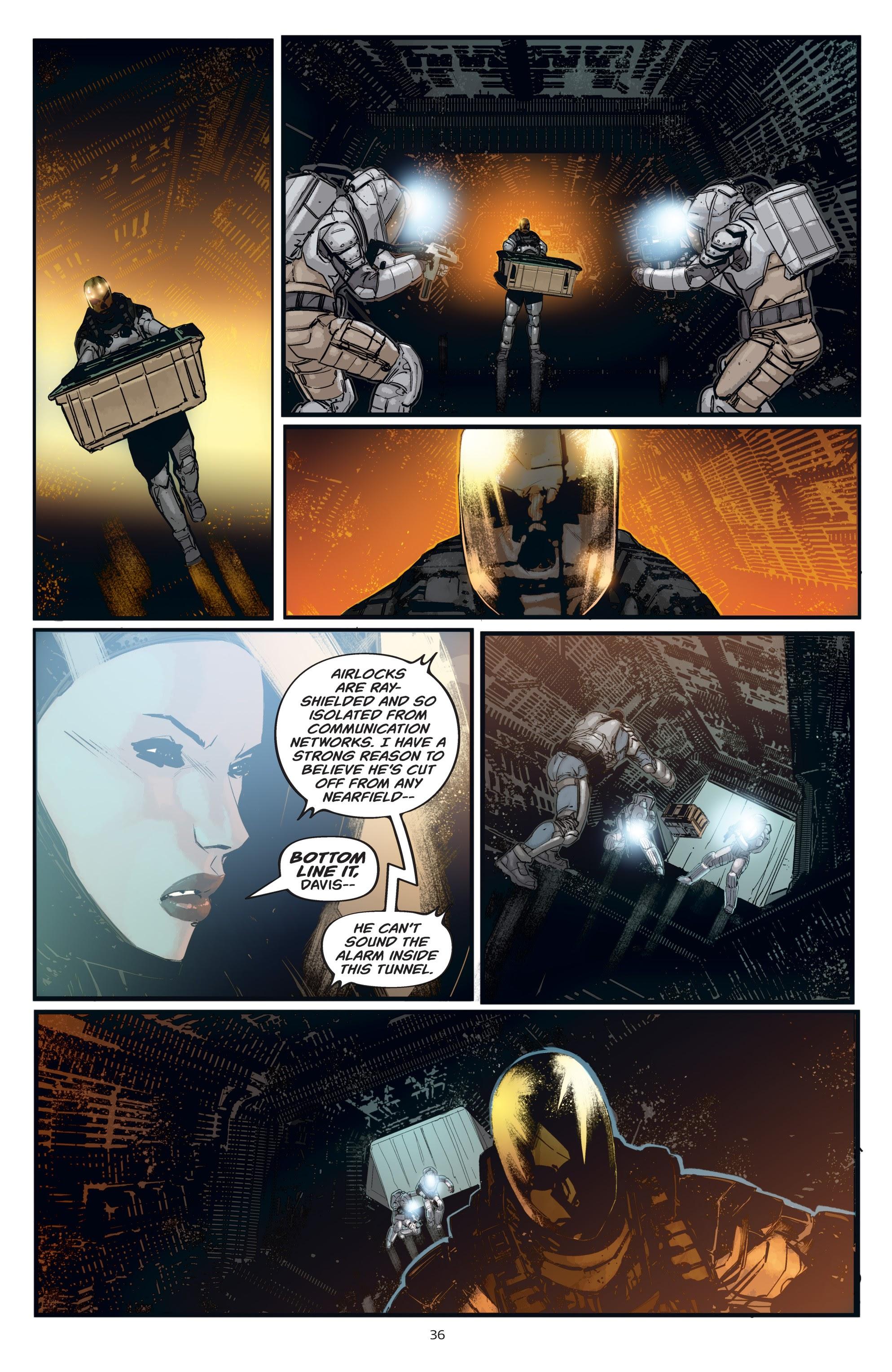 Read online Aliens: Resistance comic -  Issue # _TPB - 36