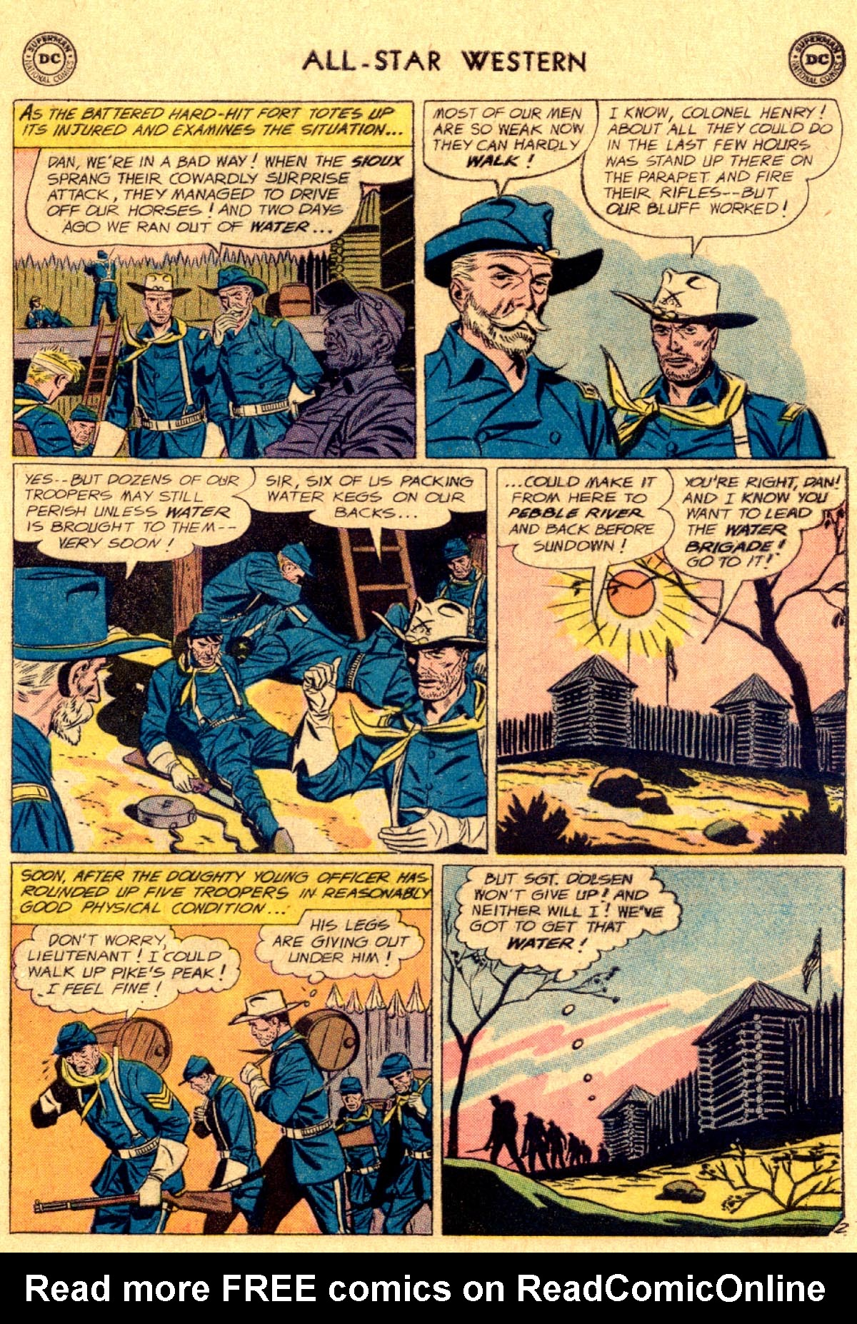 Read online All-Star Western (1951) comic -  Issue #112 - 17