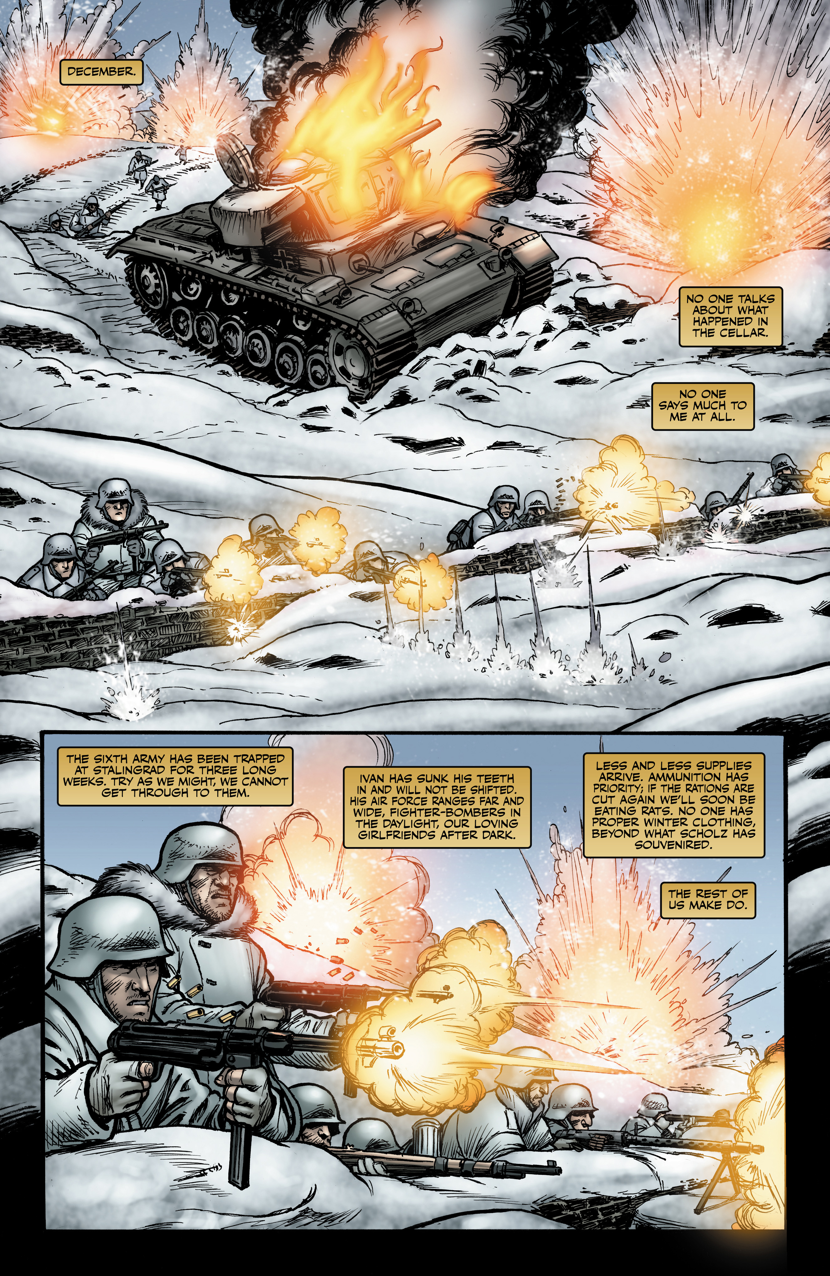 Read online Battlefields: Night Witches comic -  Issue # TPB - 53