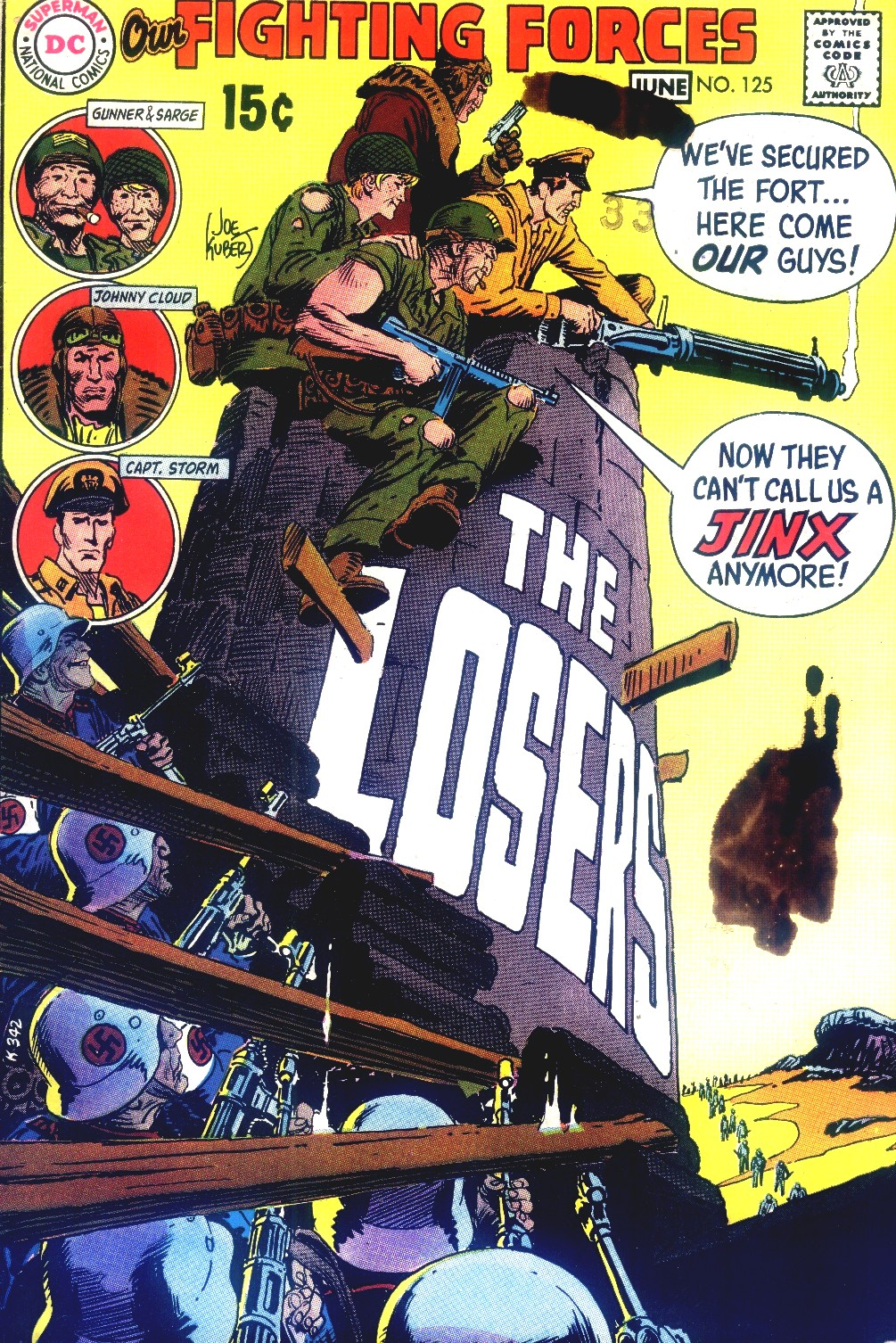 Our Fighting Forces (1954) issue 125 - Page 1