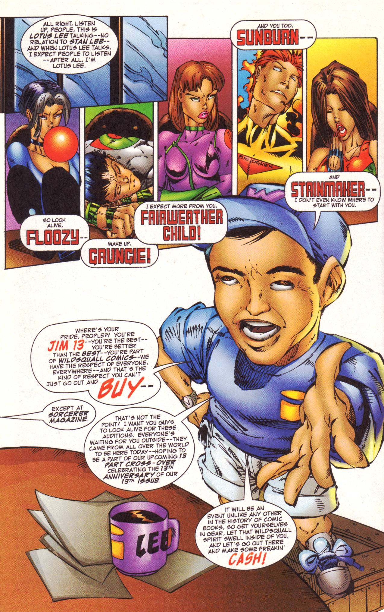 Read online Avengeblade comic -  Issue #2 - 5