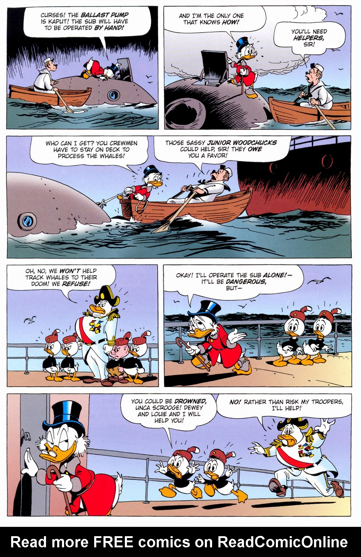 Read online Uncle Scrooge (1953) comic -  Issue #331 - 40