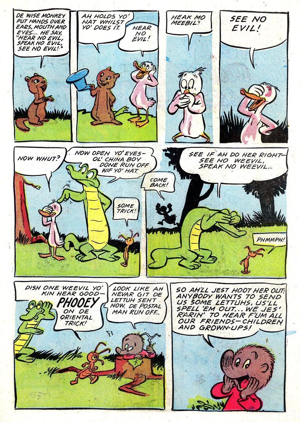 Read online Animal Comics comic -  Issue #28 - 25