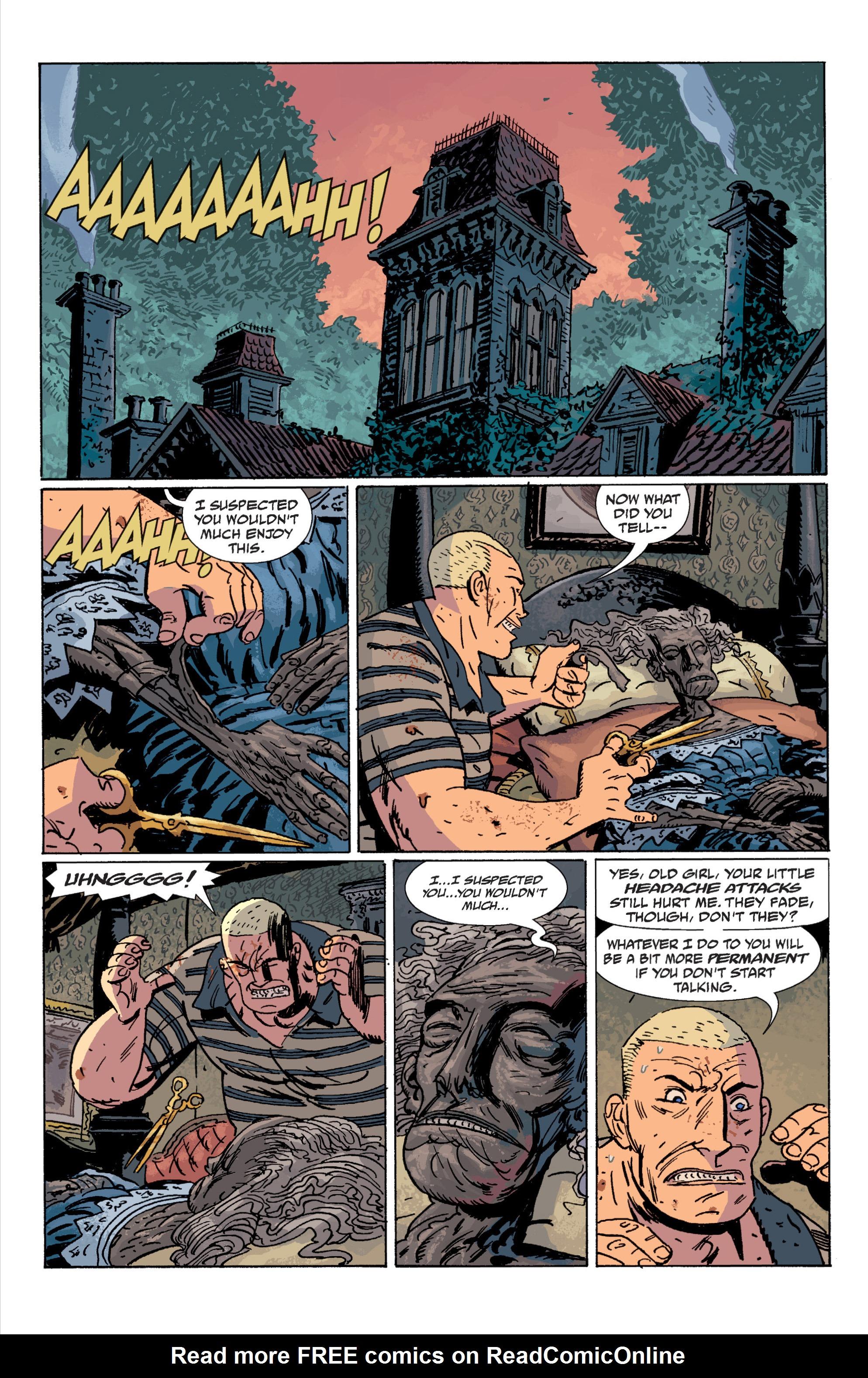 Read online B.P.R.D. (2003) comic -  Issue # TPB 7 - 112