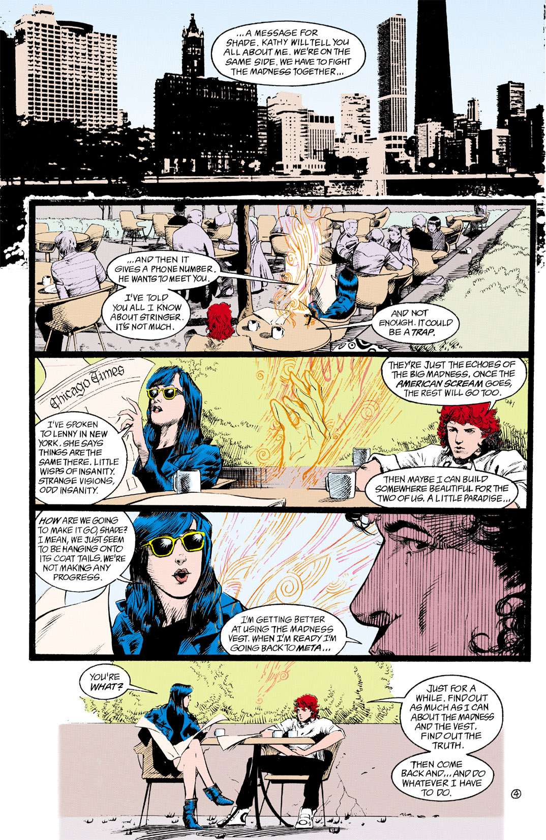 Read online Shade, the Changing Man comic -  Issue #11 - 5