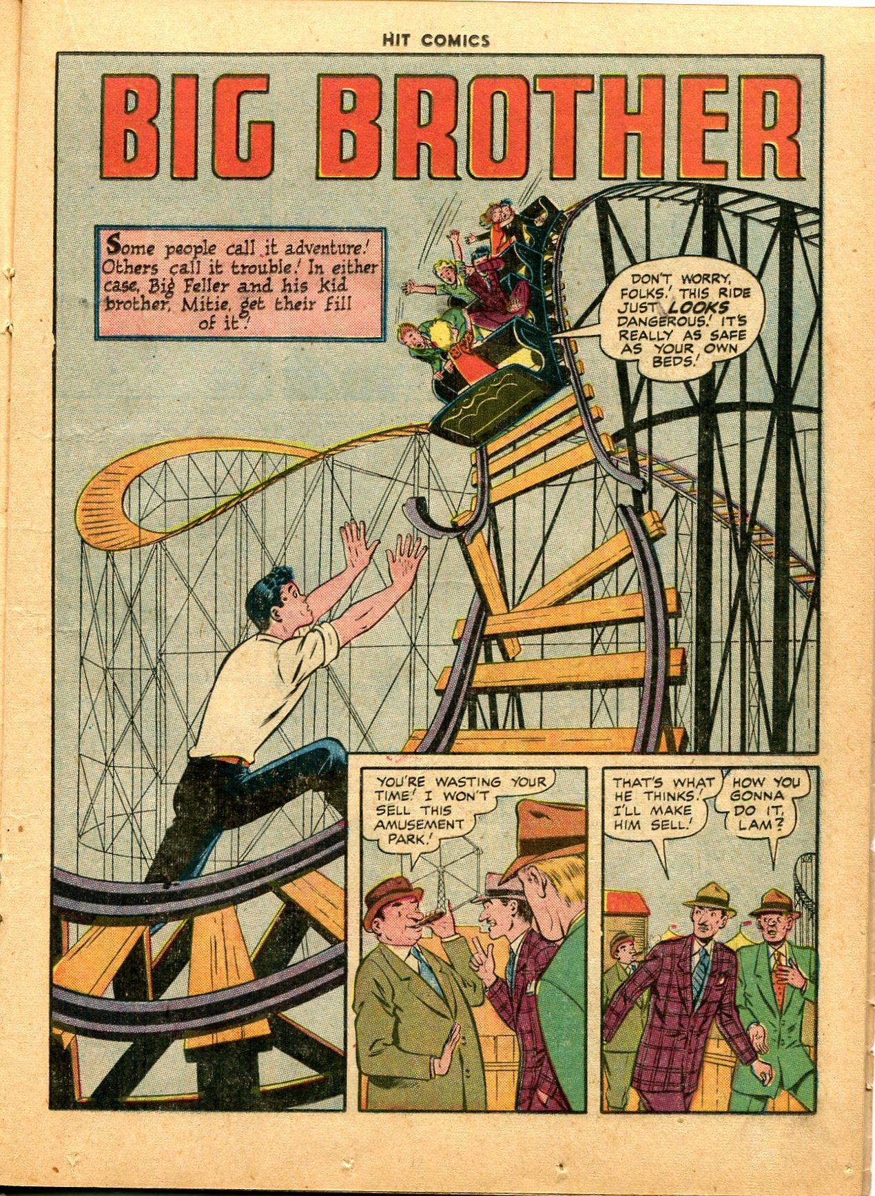 Read online Hit Comics comic -  Issue #49 - 21