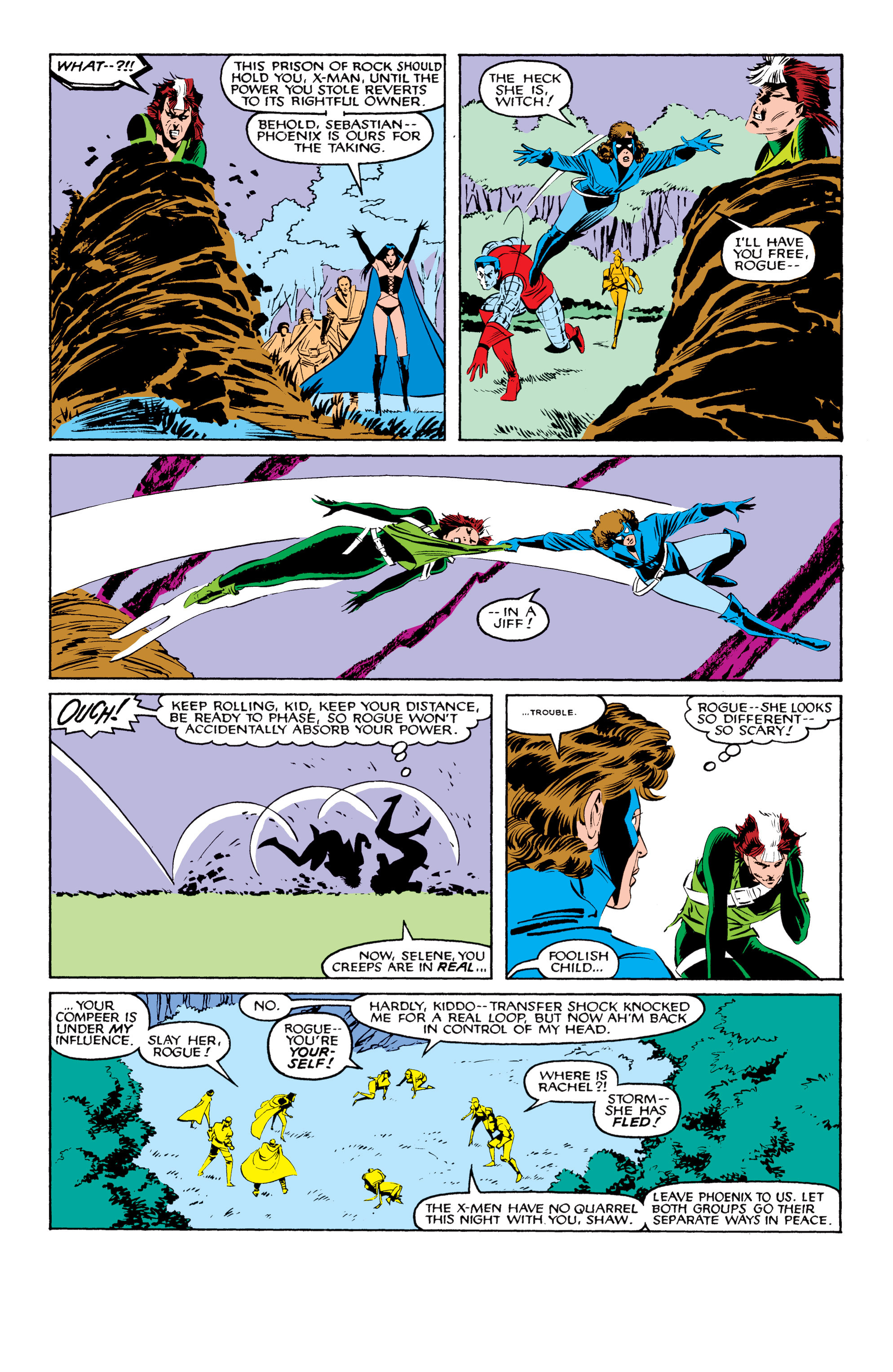 Read online Uncanny X-Men (1963) comic -  Issue #208 - 19