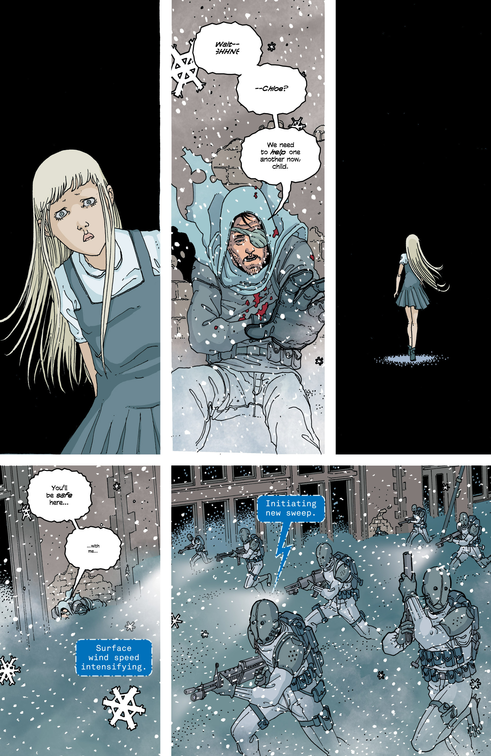 Read online Snowfall comic -  Issue #6 - 5
