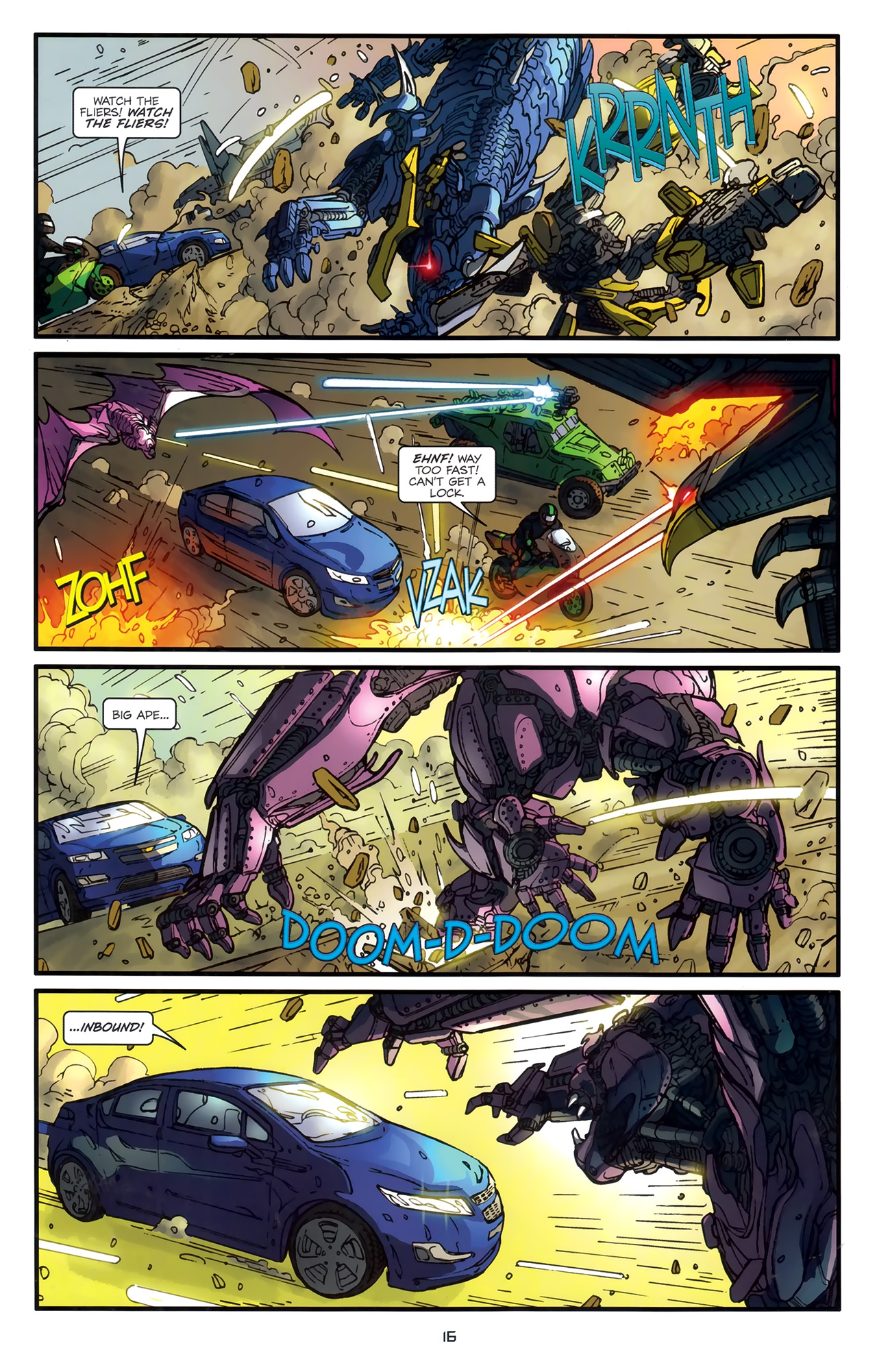 Read online Transformers: Nefarious comic -  Issue #3 - 19