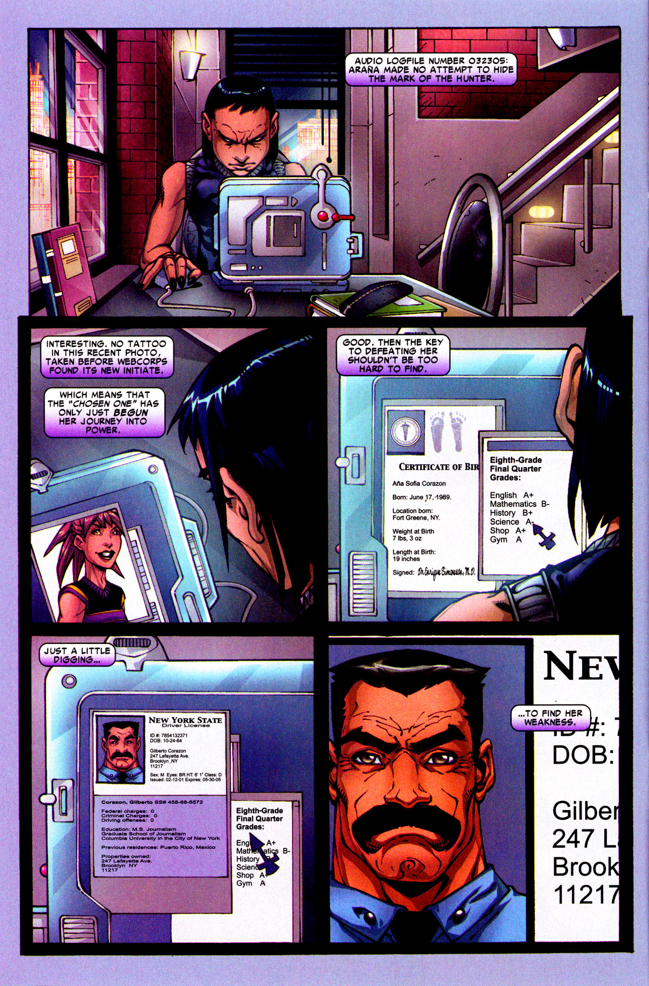 Read online Araña: Heart of the Spider comic -  Issue #3 - 9