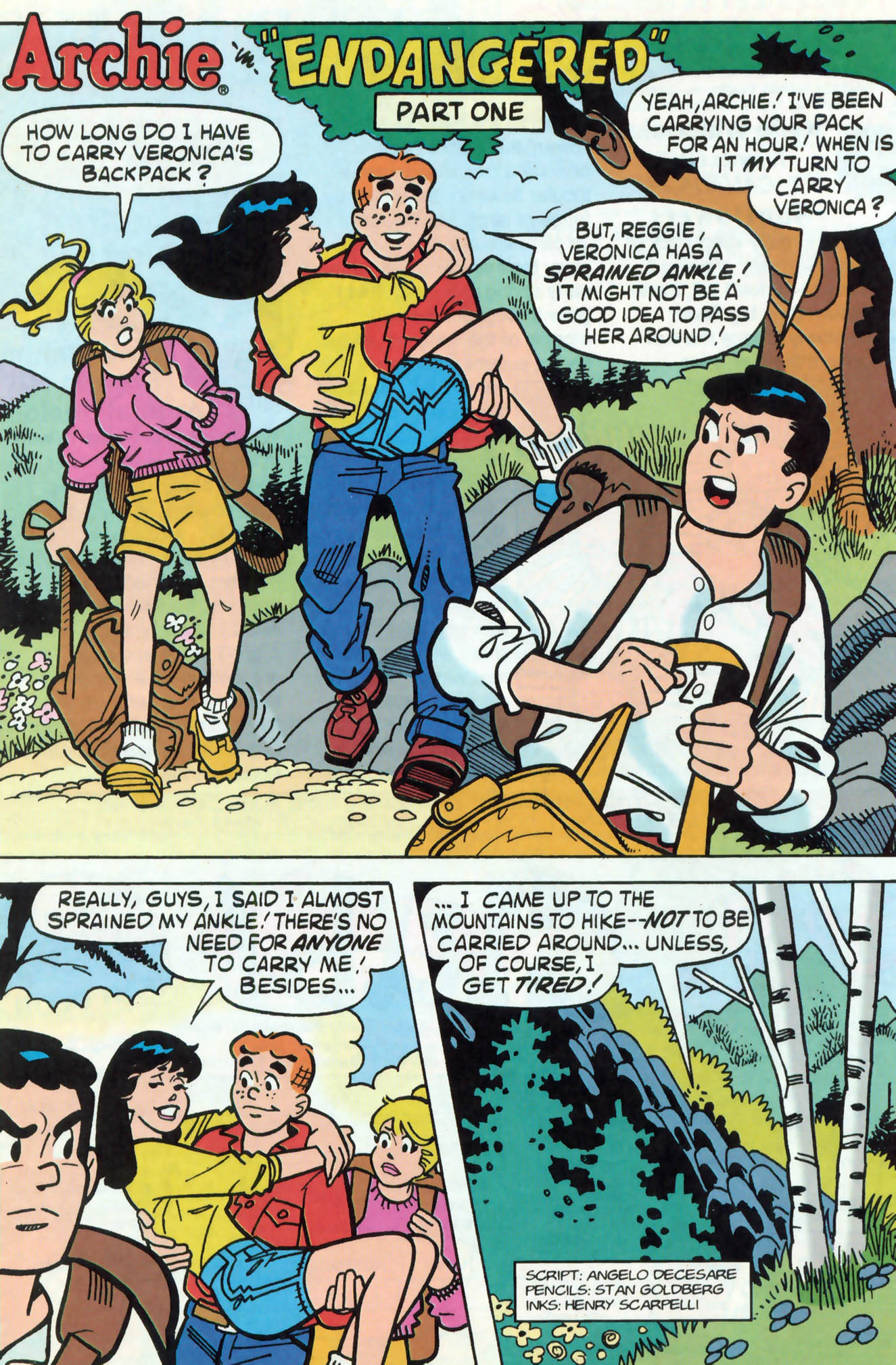 Read online Archie (1960) comic -  Issue #462 - 20