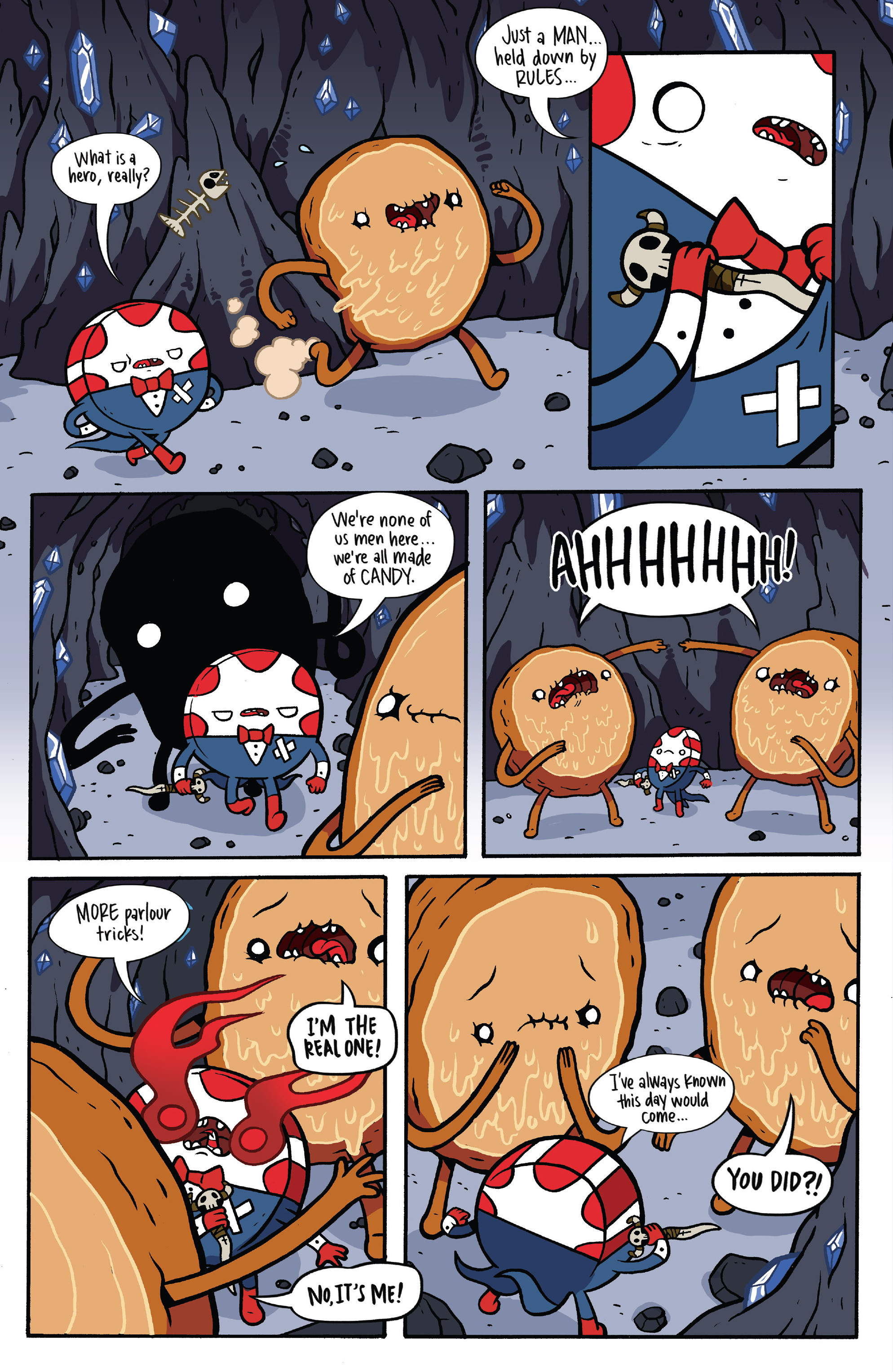 Read online Adventure Time: Candy Capers comic -  Issue #5 - 10