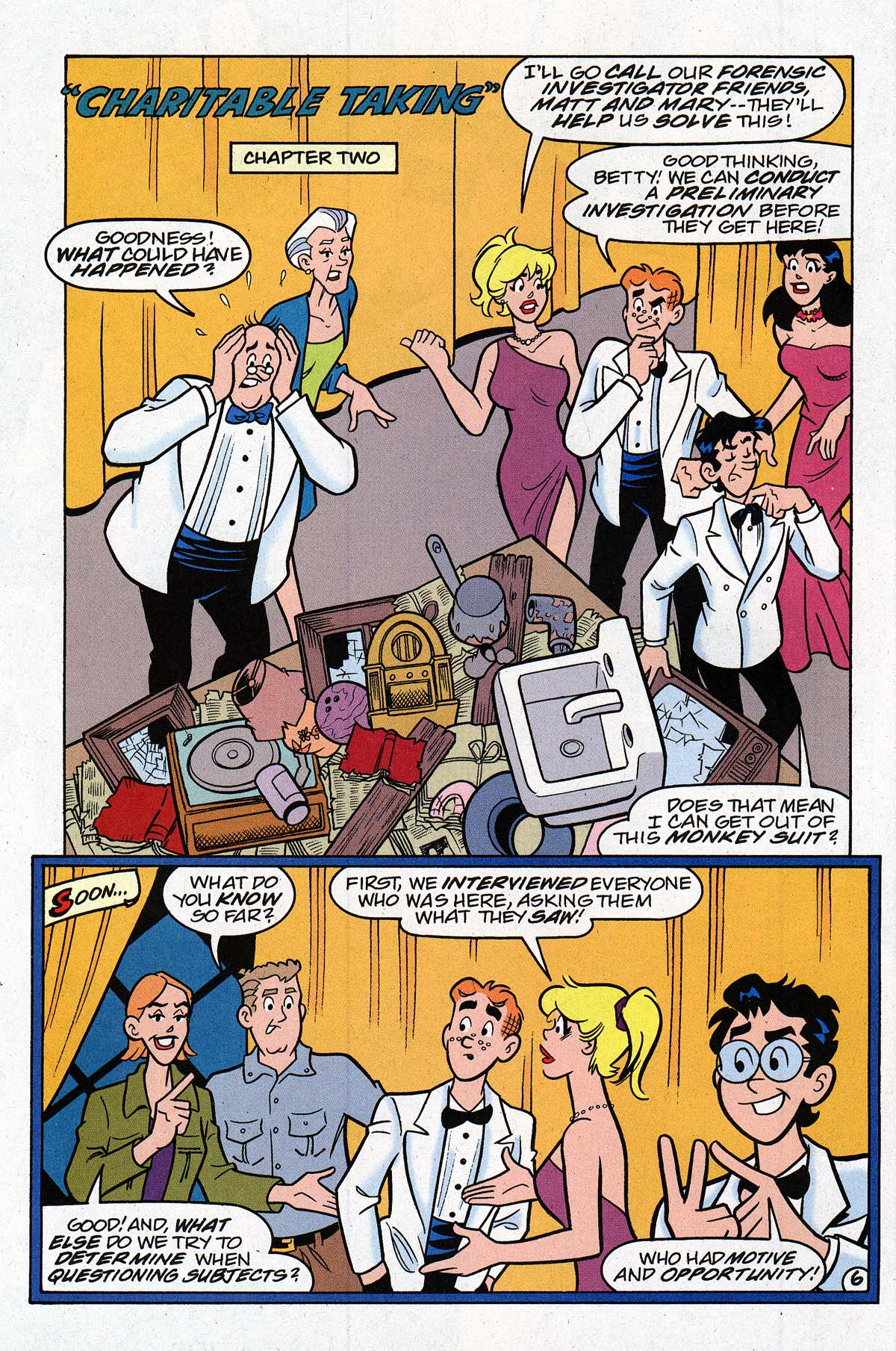 Read online Archie's Weird Mysteries comic -  Issue #27 - 9