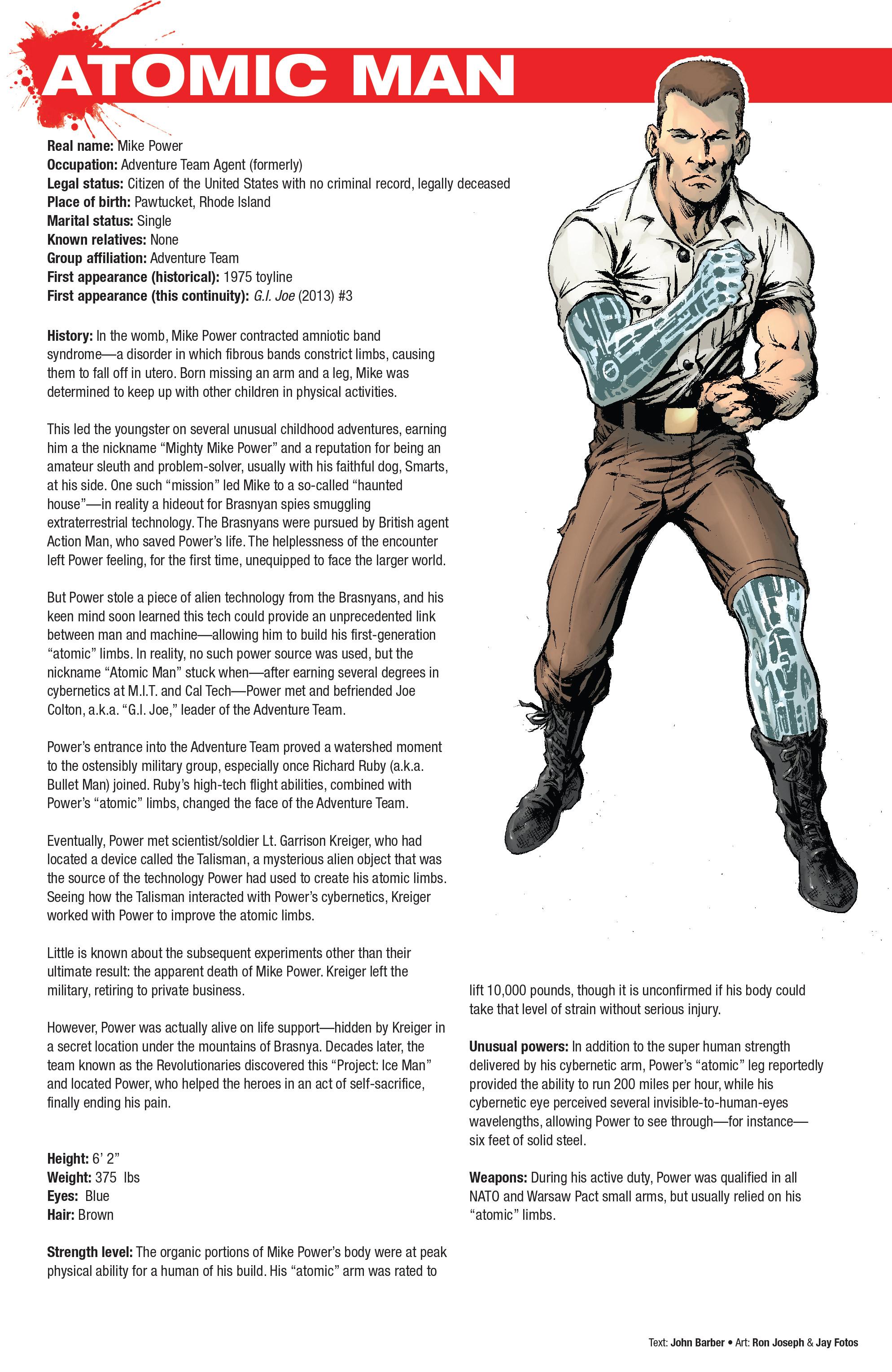 Read online Hasbro Heroes Sourcebook comic -  Issue #1 - 12
