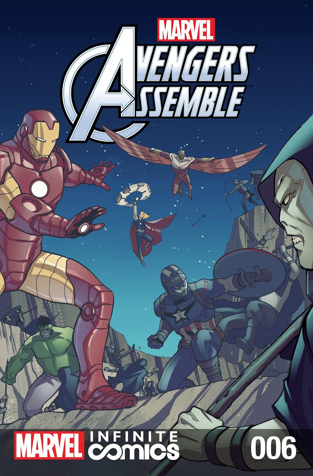 Marvel Universe Avengers Infinite Comic 6 Page 1
