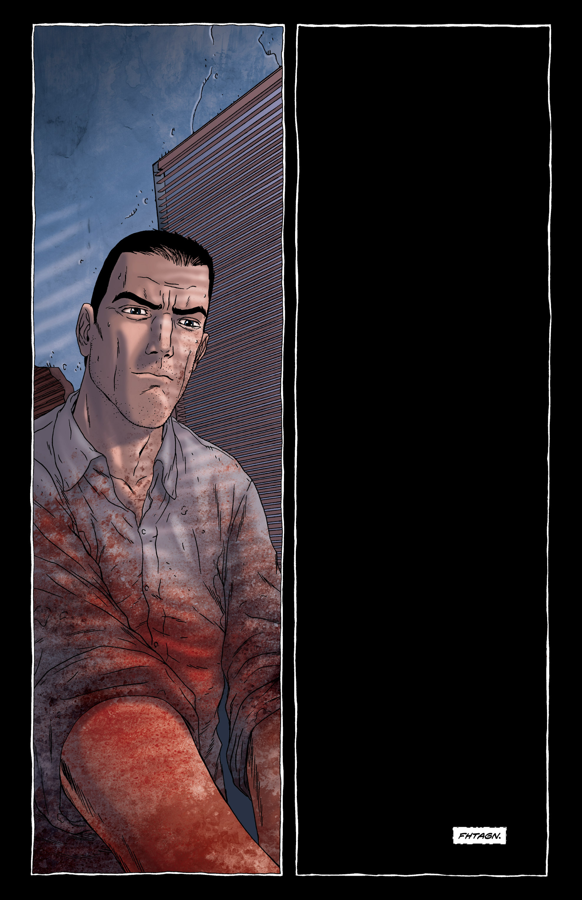 Read online Alan Moore's The Courtyard comic -  Issue # TPB - 51
