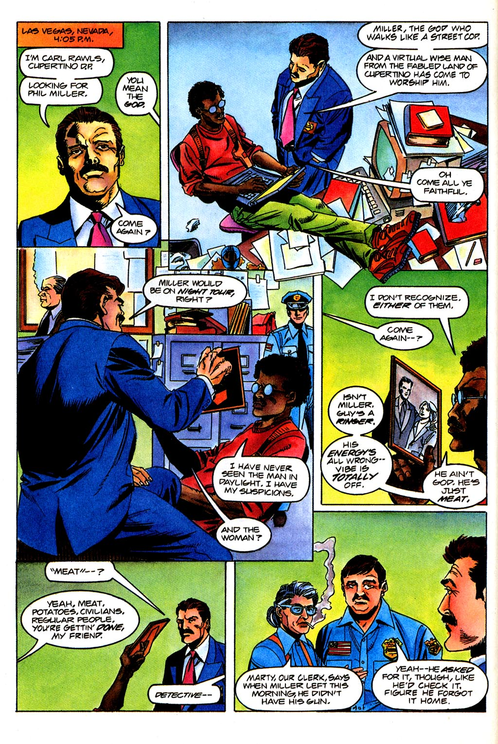 Read online Solar, Man of the Atom comic -  Issue #45 - 17
