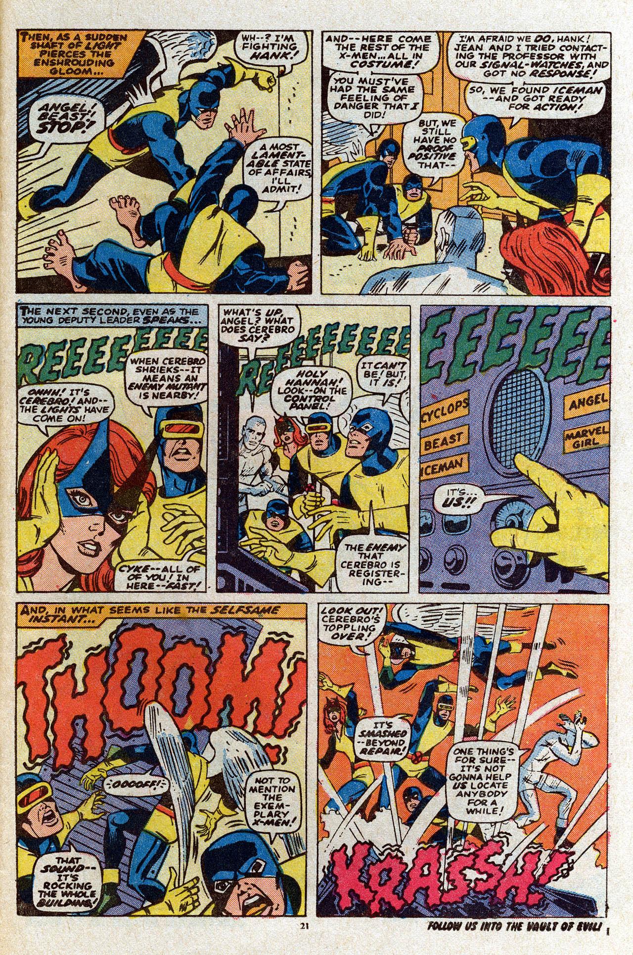 Uncanny X-Men (1963) 80 Page 22