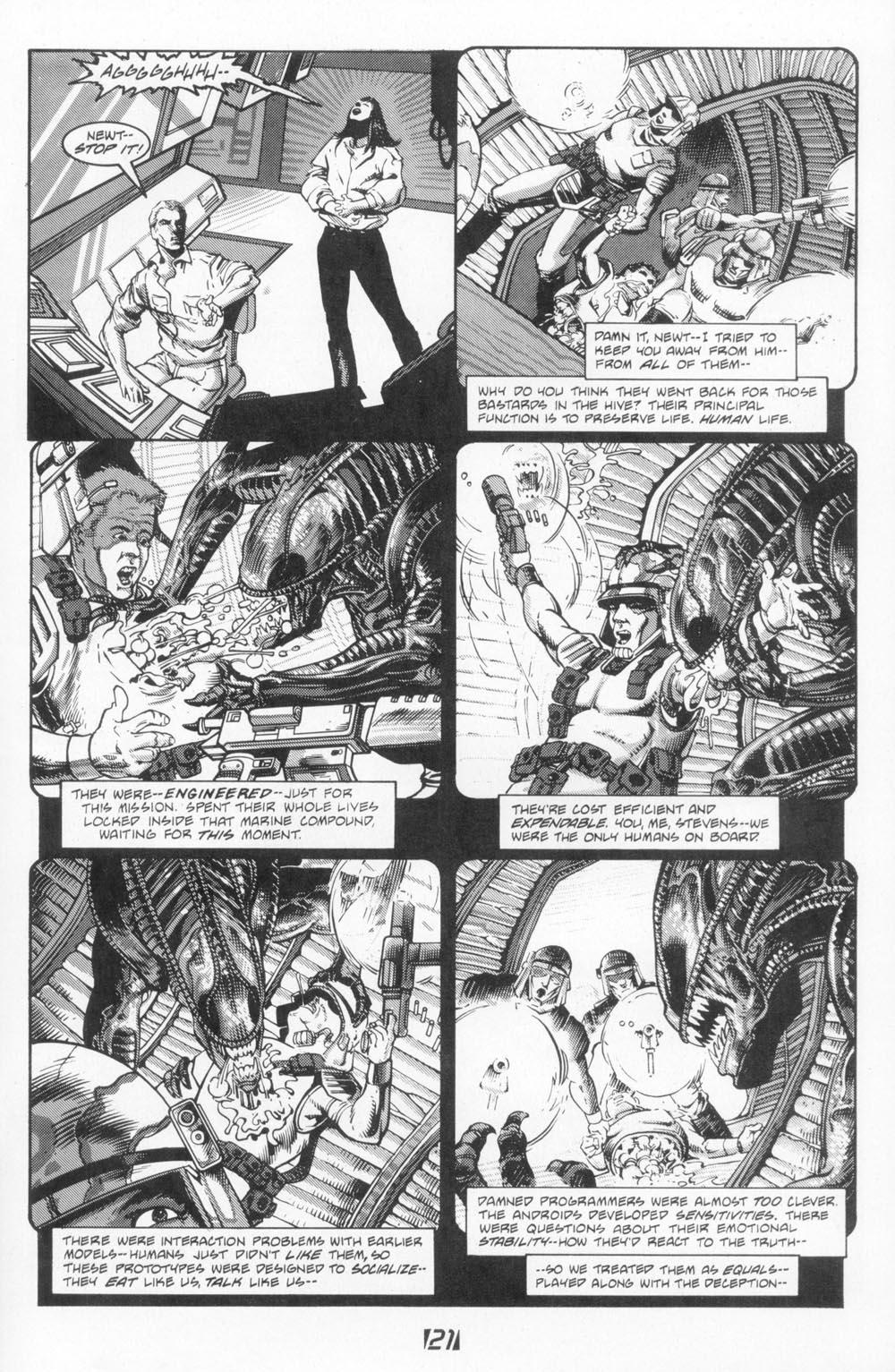 Read online Aliens (1988) comic -  Issue #5 - 23