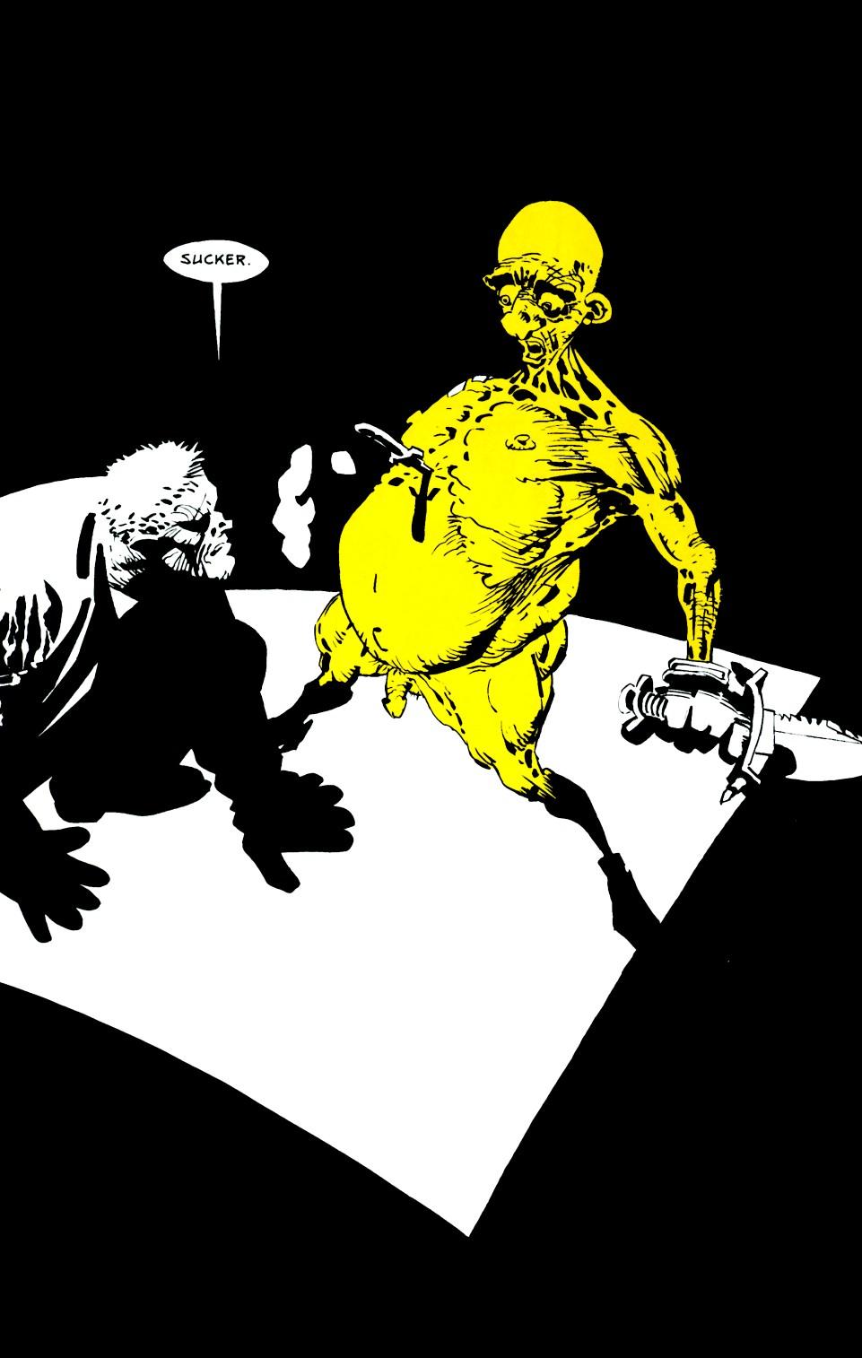 Read online Sin City: That Yellow Bastard comic -  Issue #6 - 36