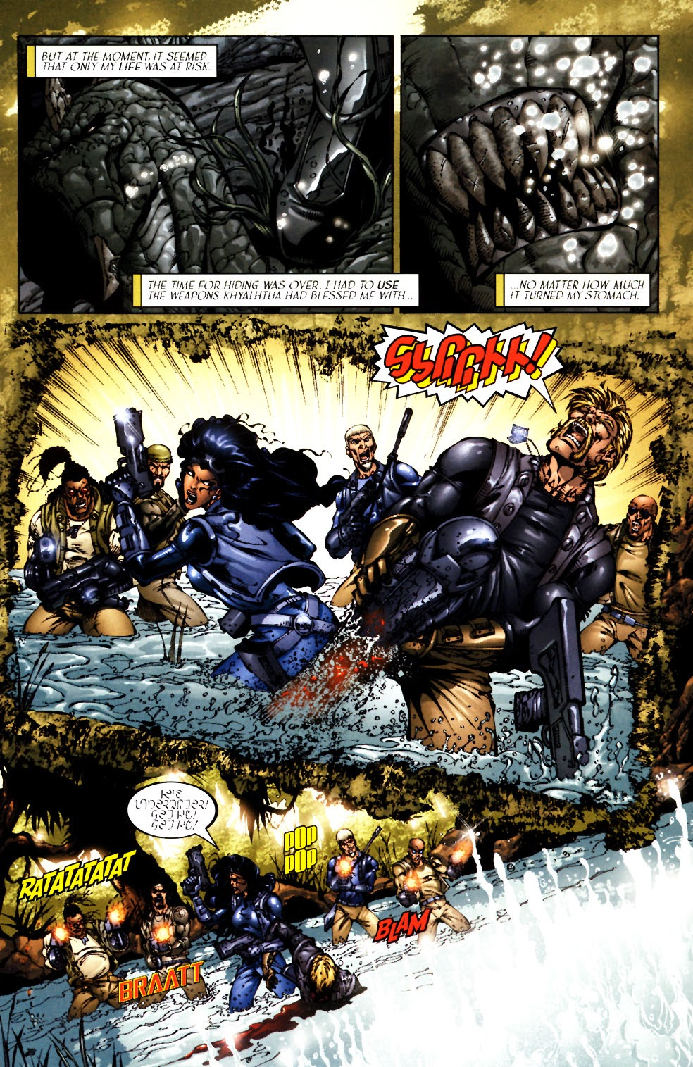 Read online Saurians: Unnatural Selection comic -  Issue #1 - 5