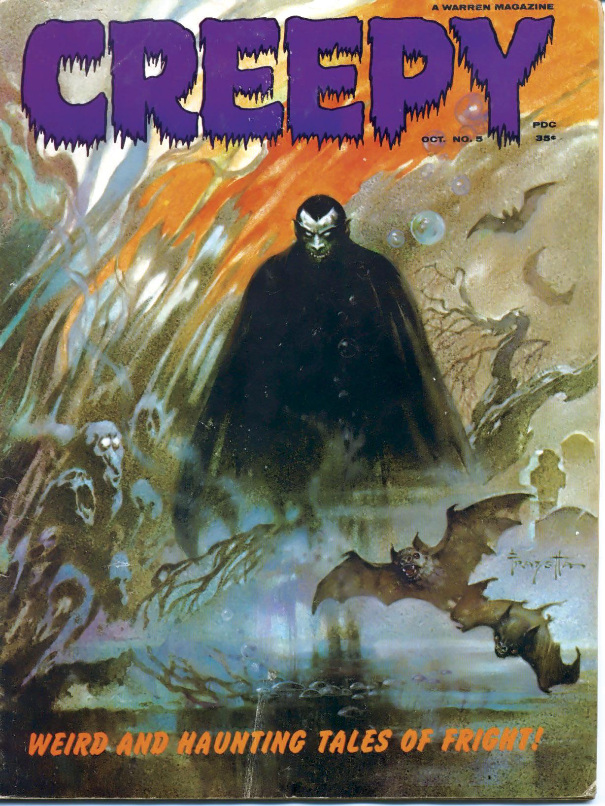 Creepy (1964) 5 Page 1