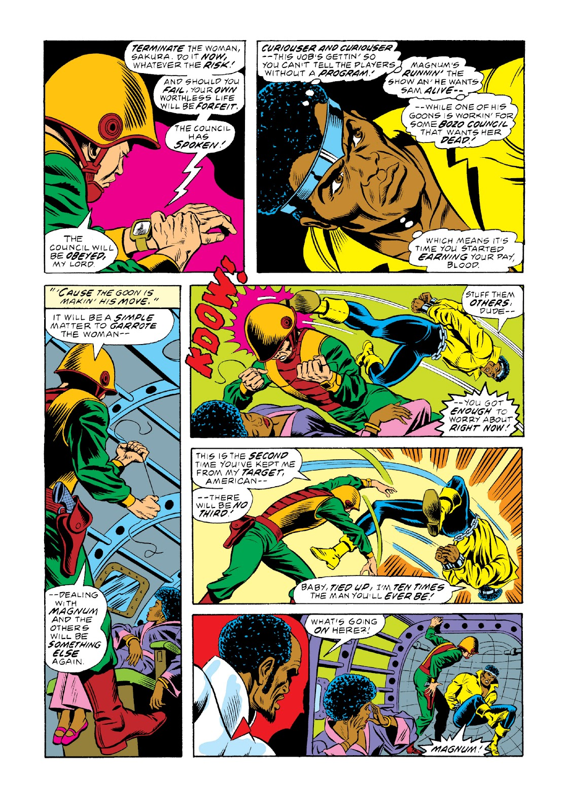 Read online Marvel Masterworks: Luke Cage, Power Man comic -  Issue # TPB 3 (Part 1) - 97