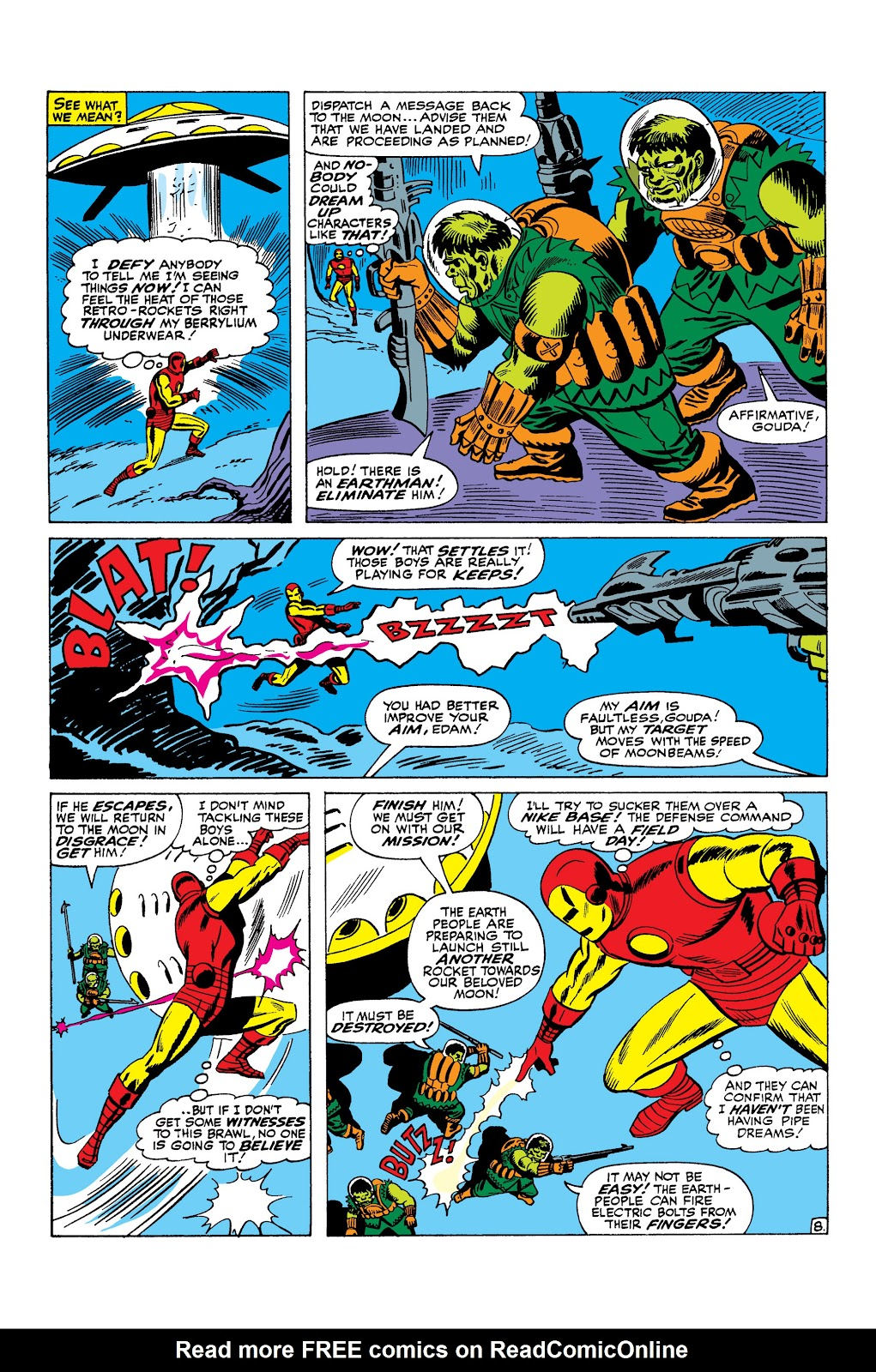 Read online Marvel Masterworks: The Invincible Iron Man comic -  Issue # TPB 3 (Part 1) - 57