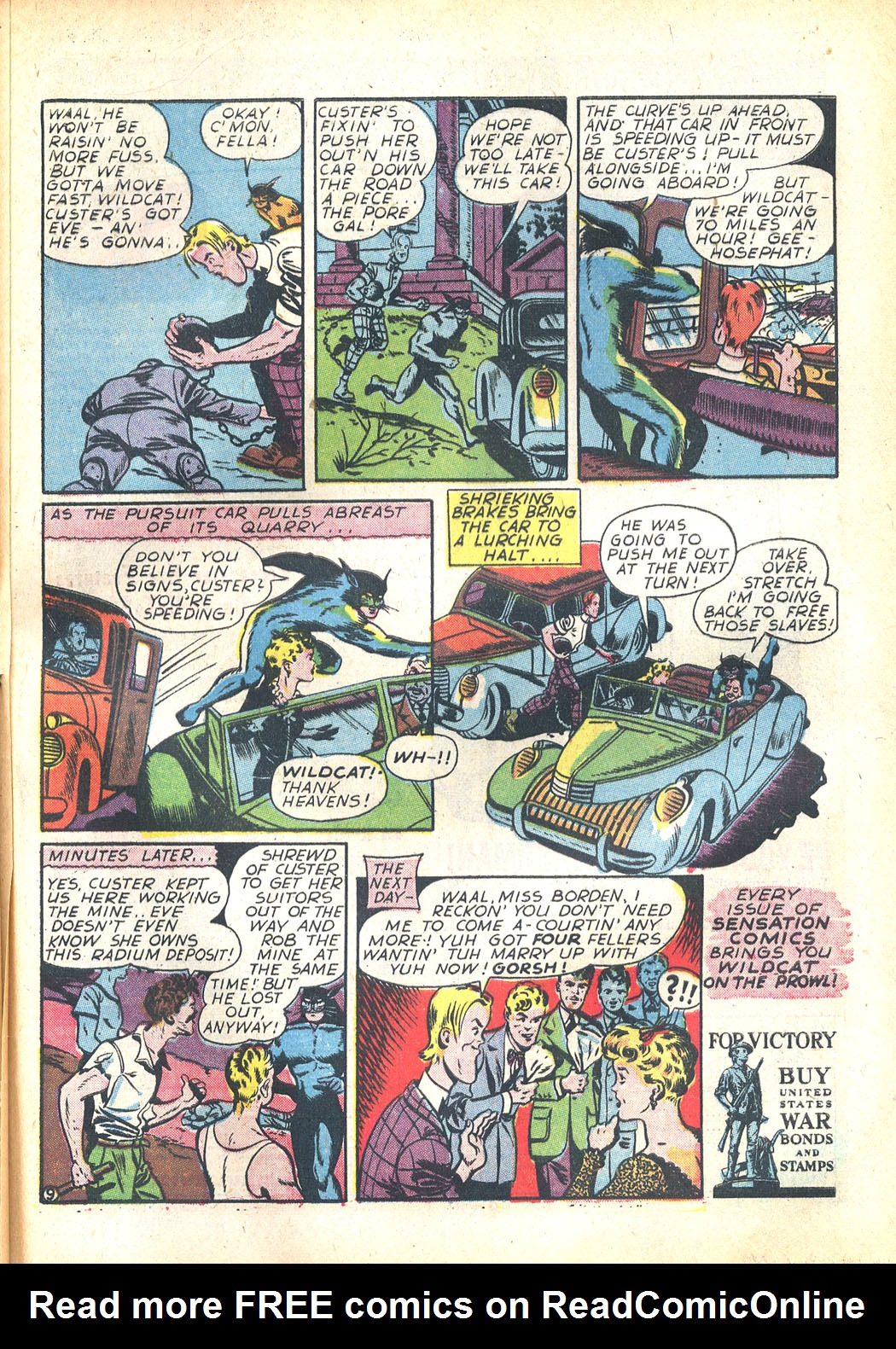 Read online Sensation (Mystery) Comics comic -  Issue #23 - 57
