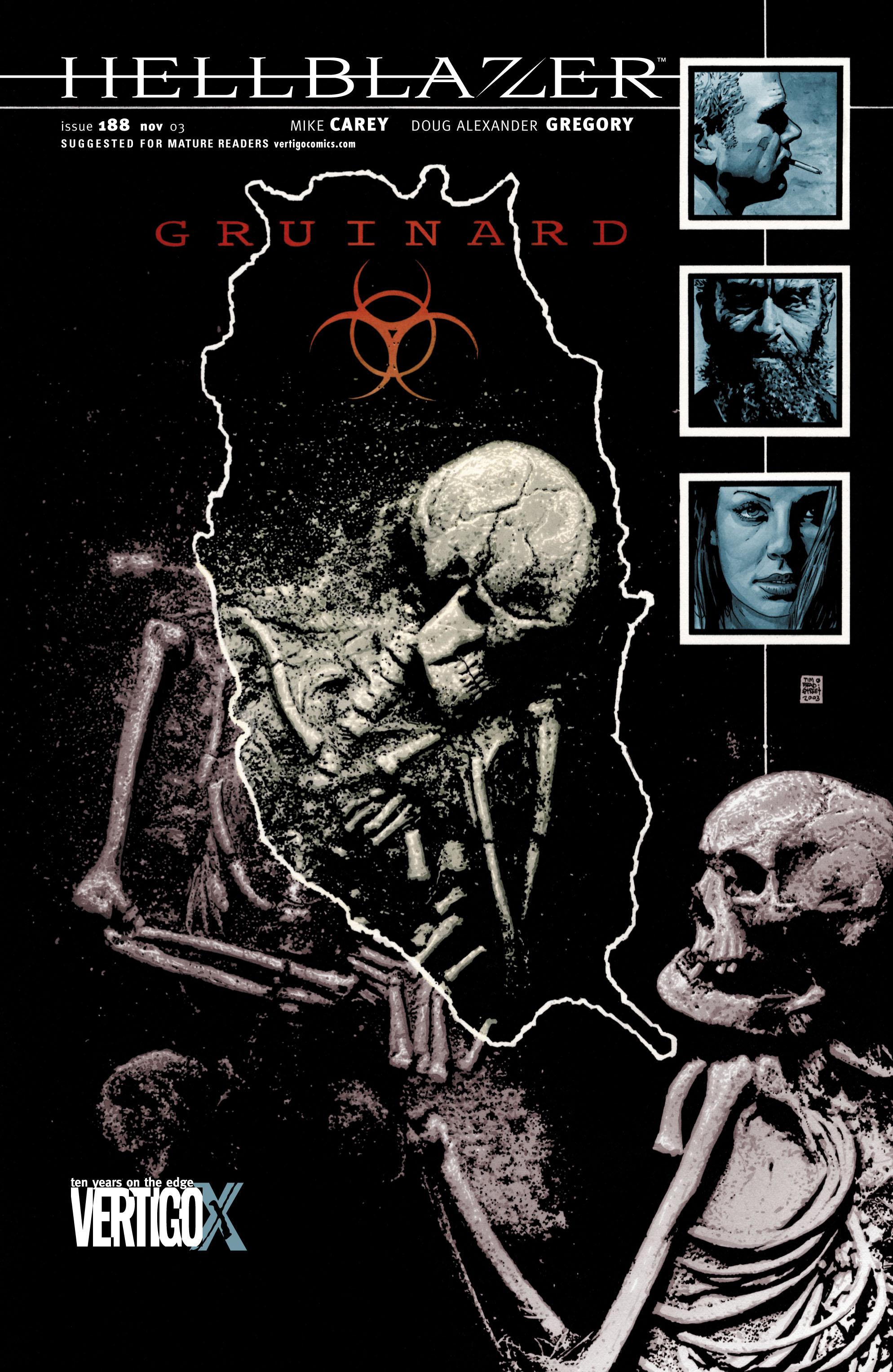 Hellblazer issue 188 - Page 1