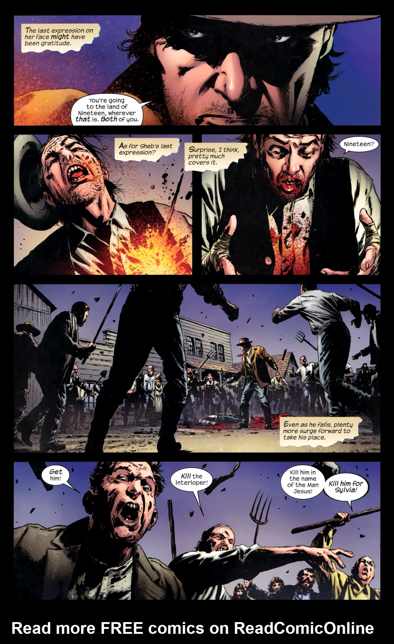 Read online Dark Tower: The Gunslinger - The Battle of Tull comic -  Issue #5 - 6