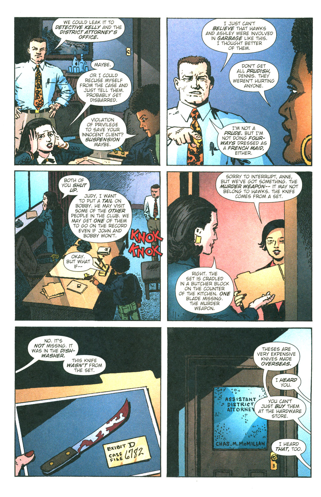 Read online Caper comic -  Issue #7 - 11