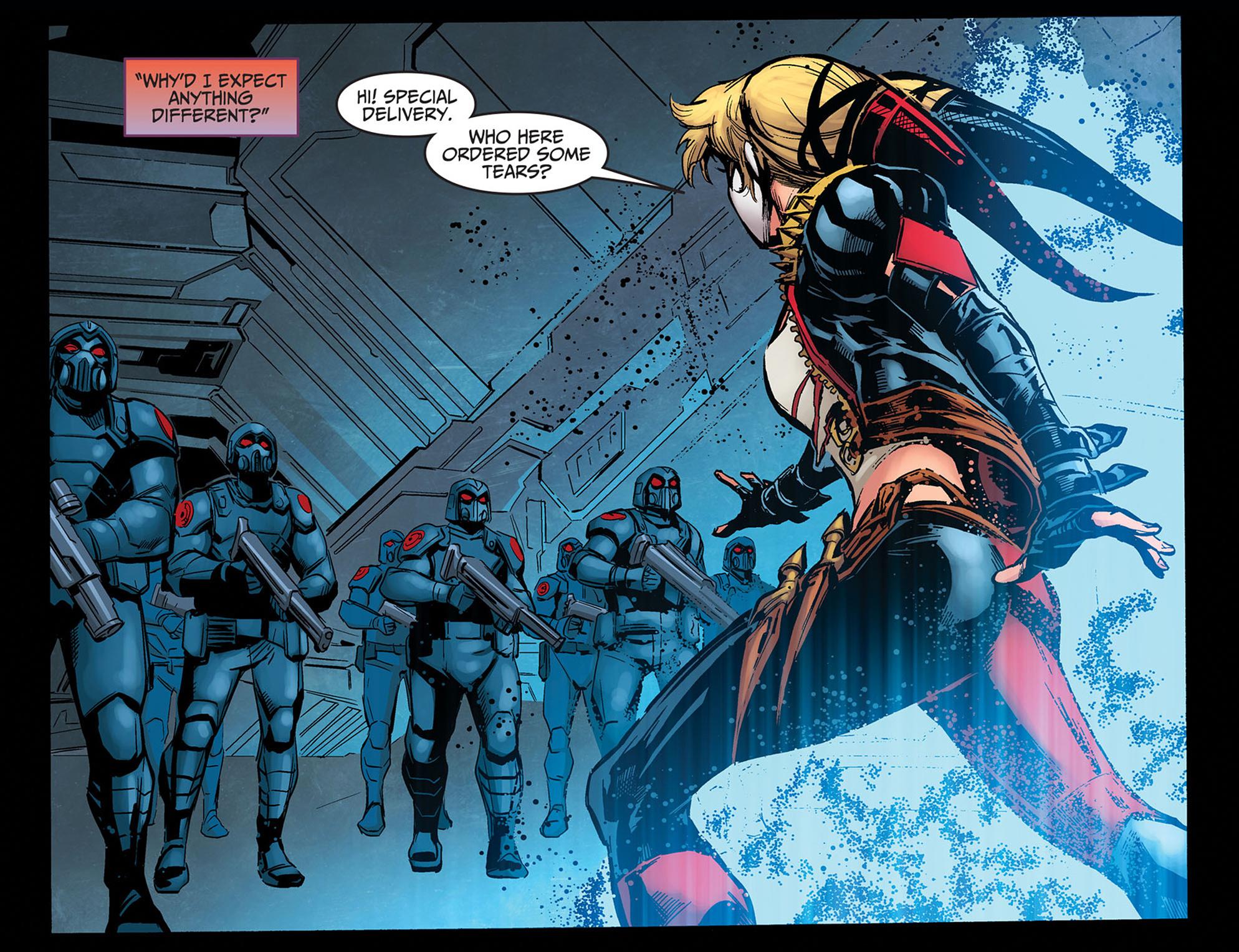 Read online Injustice: Ground Zero comic -  Issue #14 - 7