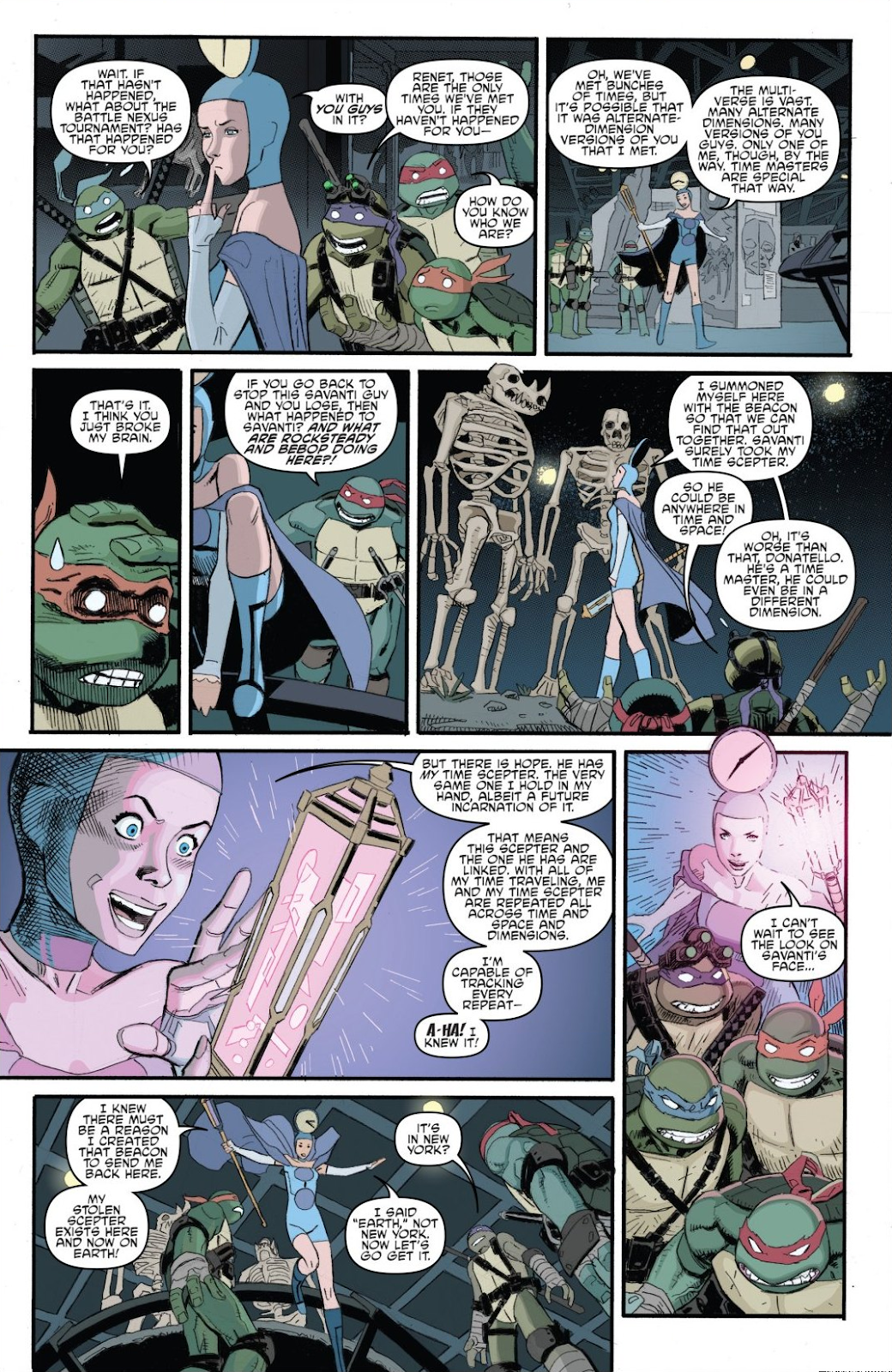 Read online Teenage Mutant Ninja Turtles: The IDW Collection comic -  Issue # TPB 8 (Part 1) - 20