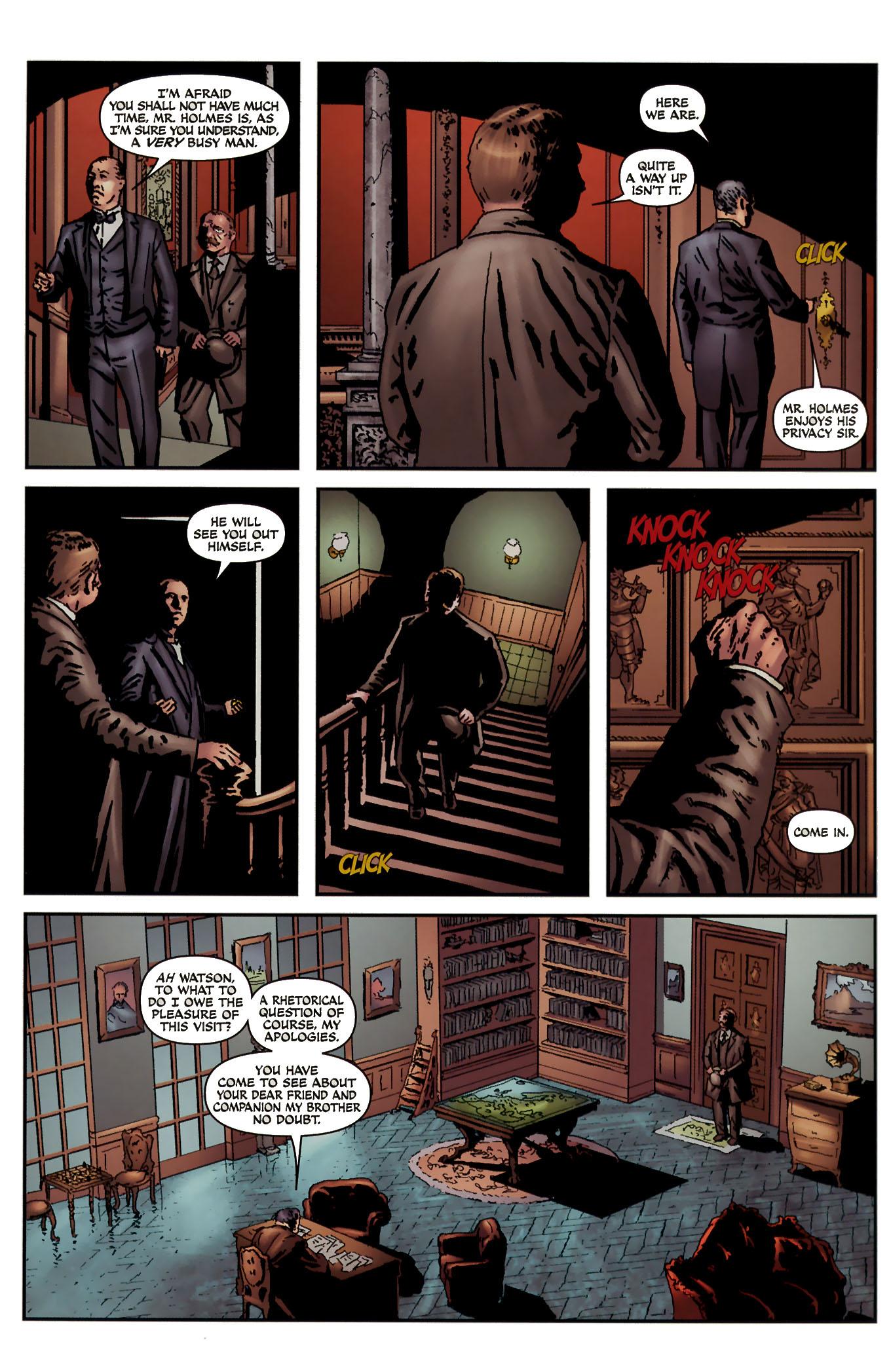 Read online Sherlock Holmes (2009) comic -  Issue #3 - 25