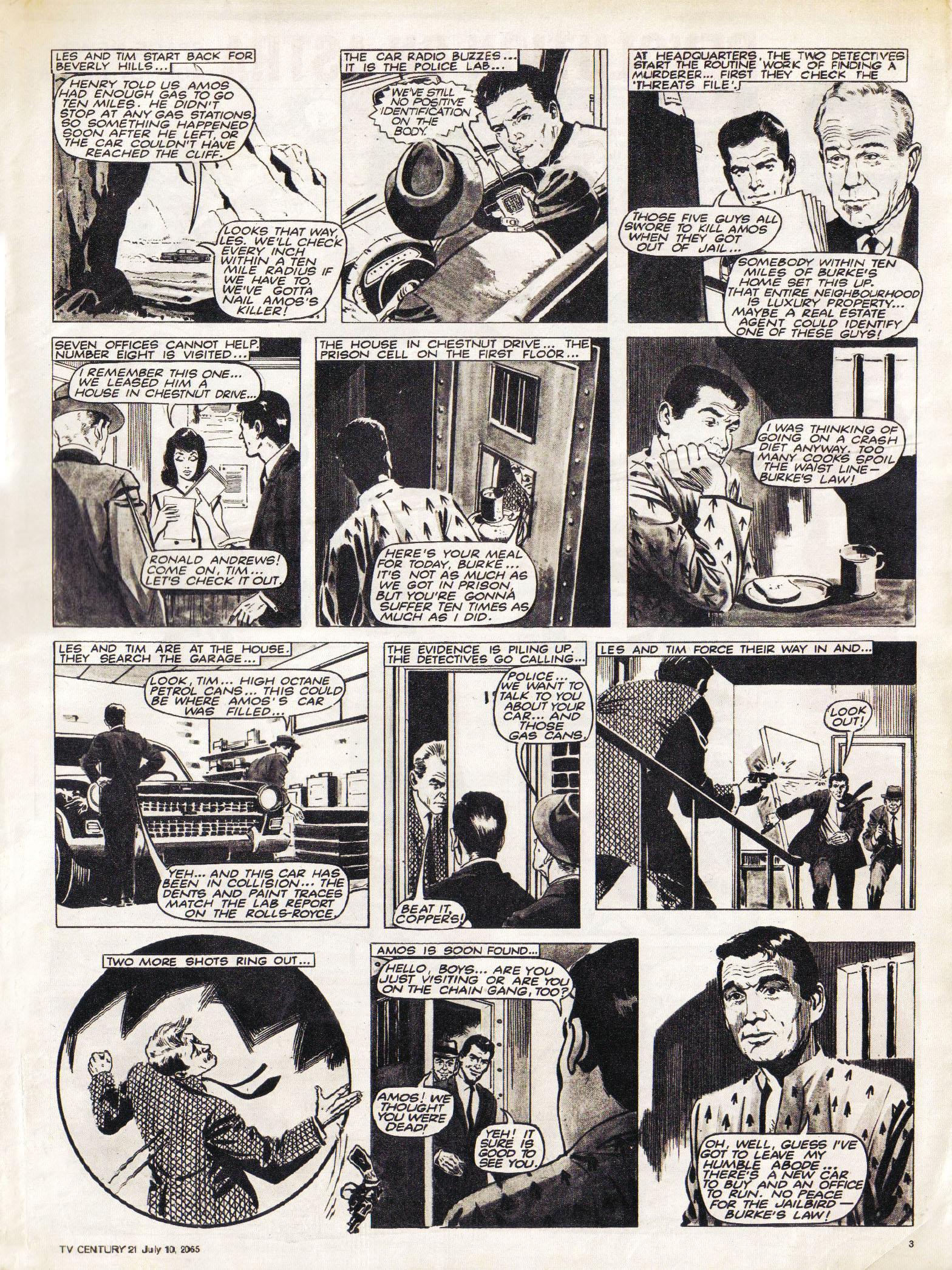 Read online TV Century 21 (TV 21) comic -  Issue #25 - 3