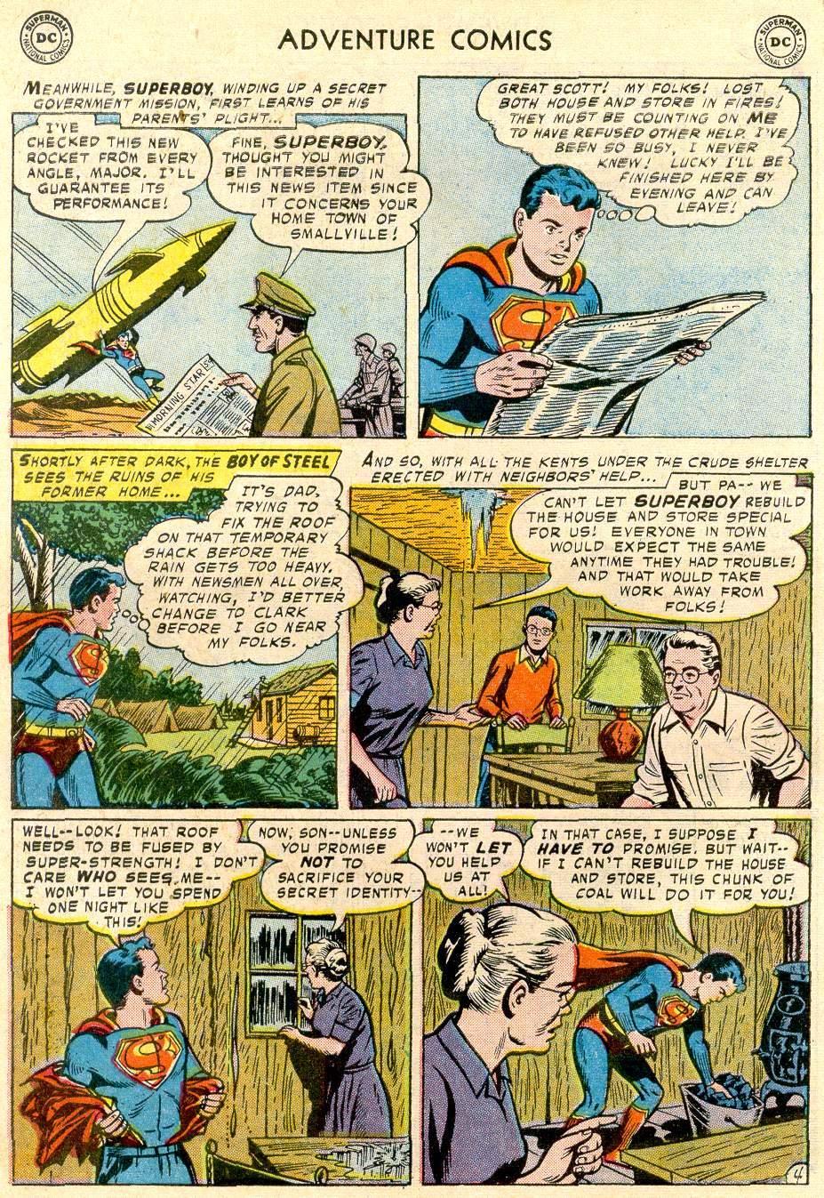 Read online Adventure Comics (1938) comic -  Issue #244 - 6