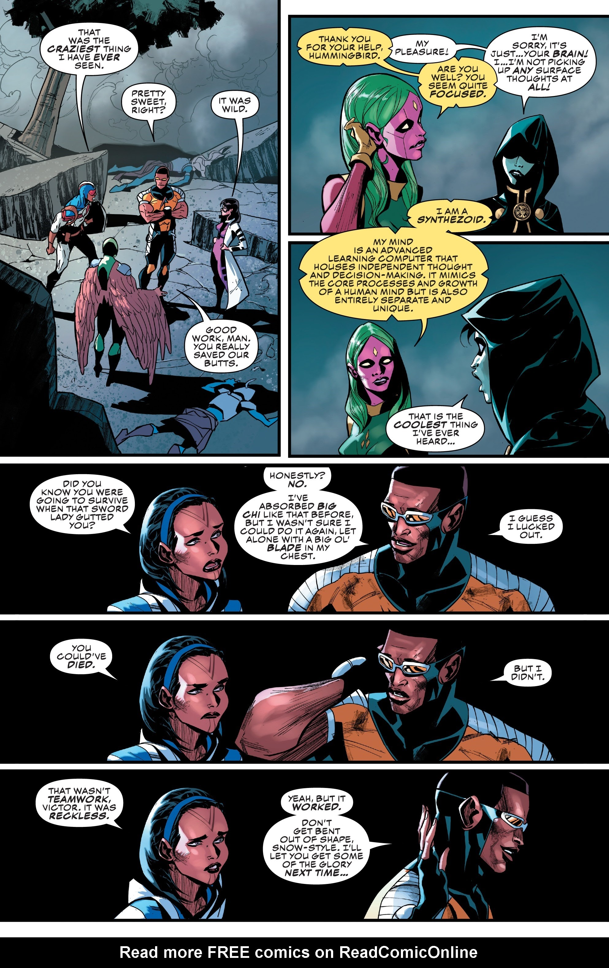 Read online Champions (2019) comic -  Issue #6 - 20