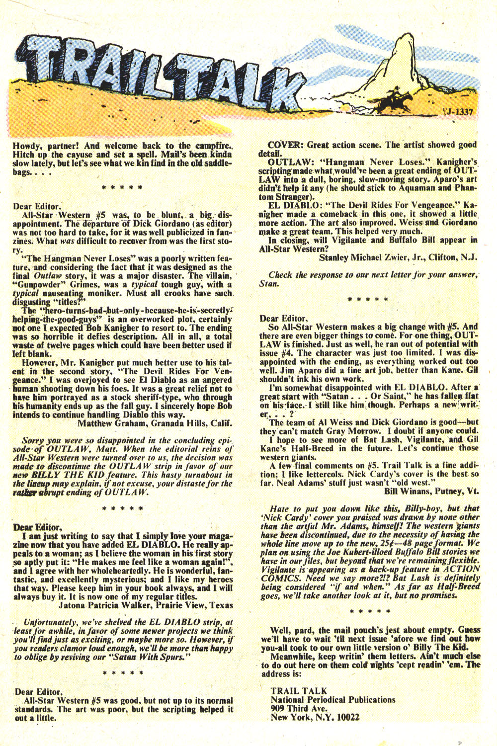 Read online All-Star Western (1970) comic -  Issue #8 - 24
