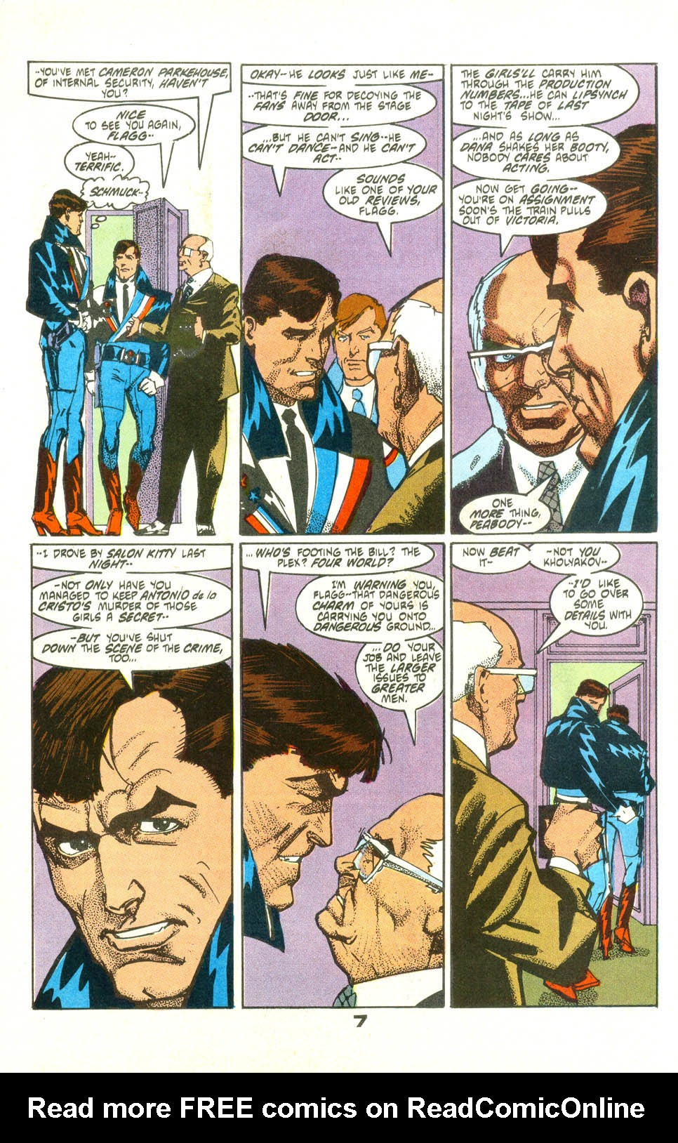 Read online American Flagg! comic -  Issue #25 - 9