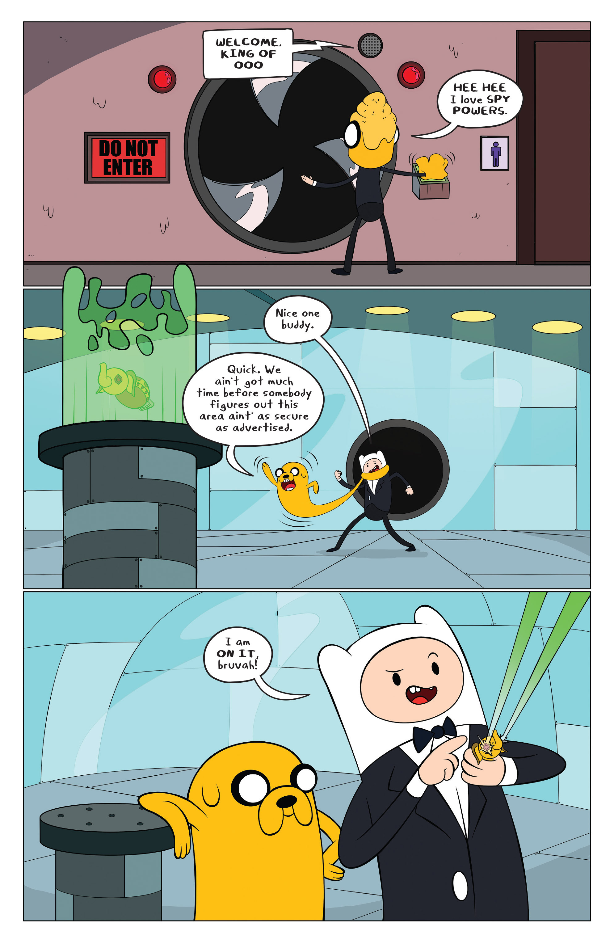 Read online Adventure Time comic -  Issue #43 - 17