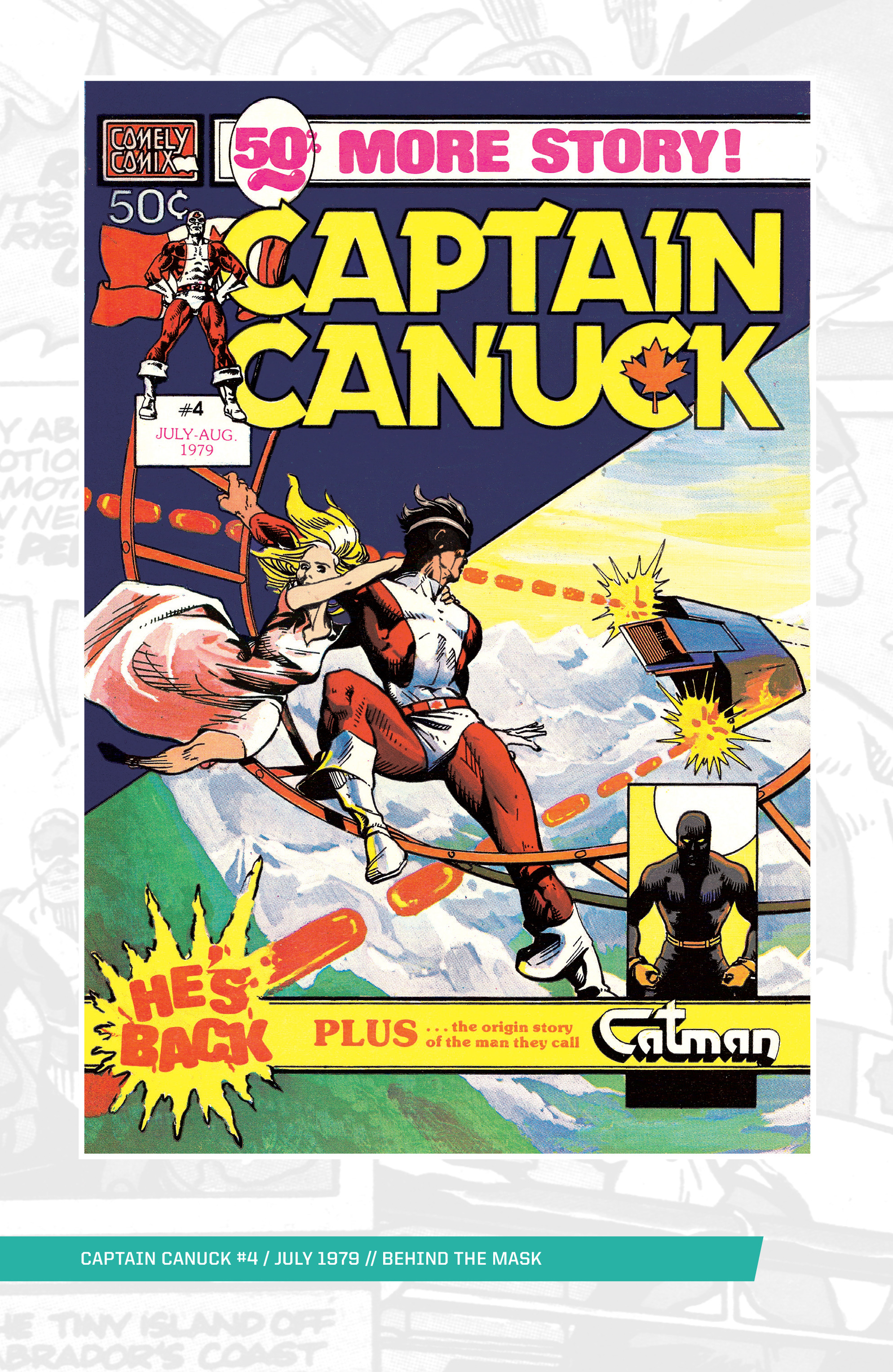 Captain Canuck (1975) 4 Page 1