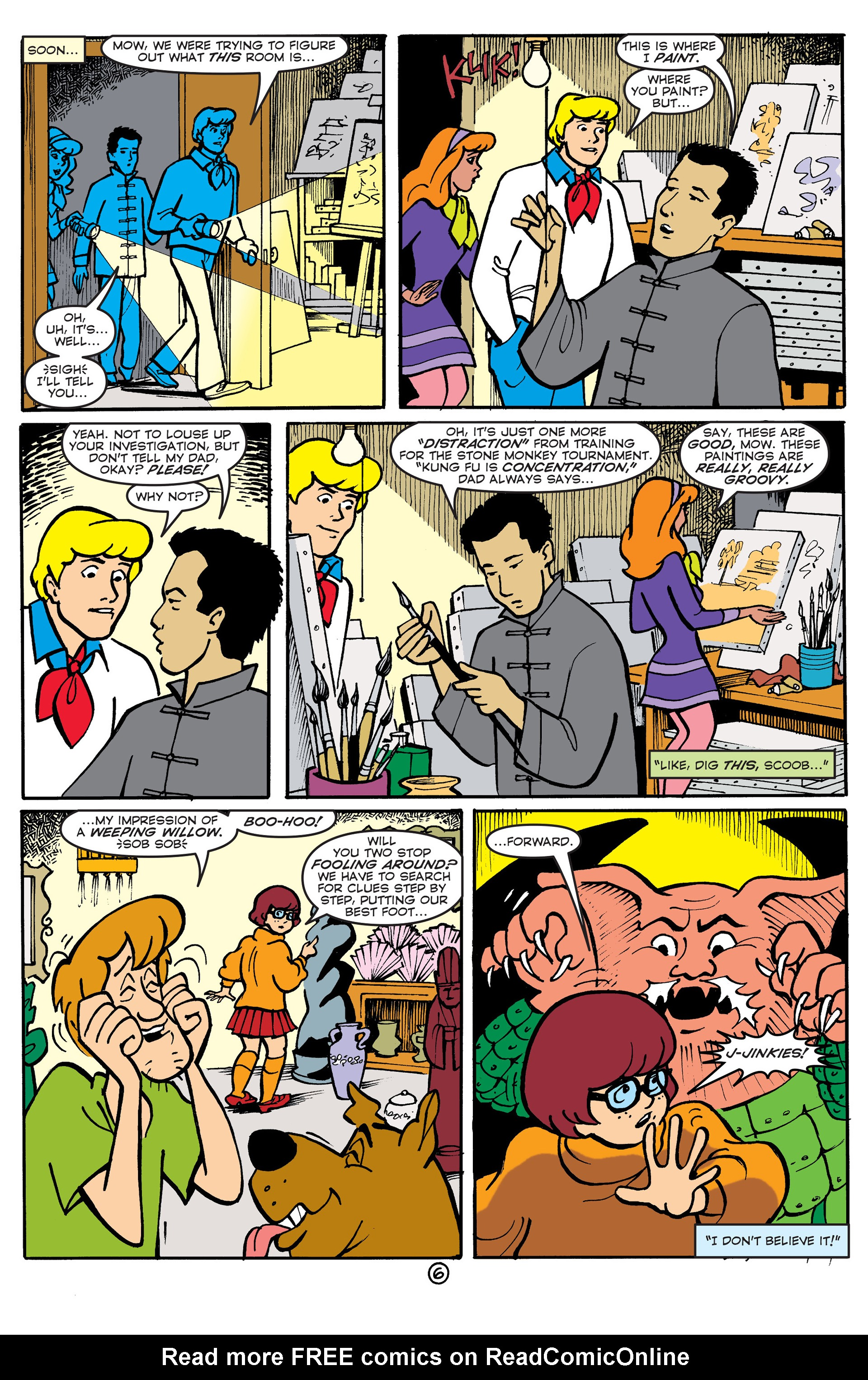 Read online Scooby-Doo (1997) comic -  Issue #51 - 7