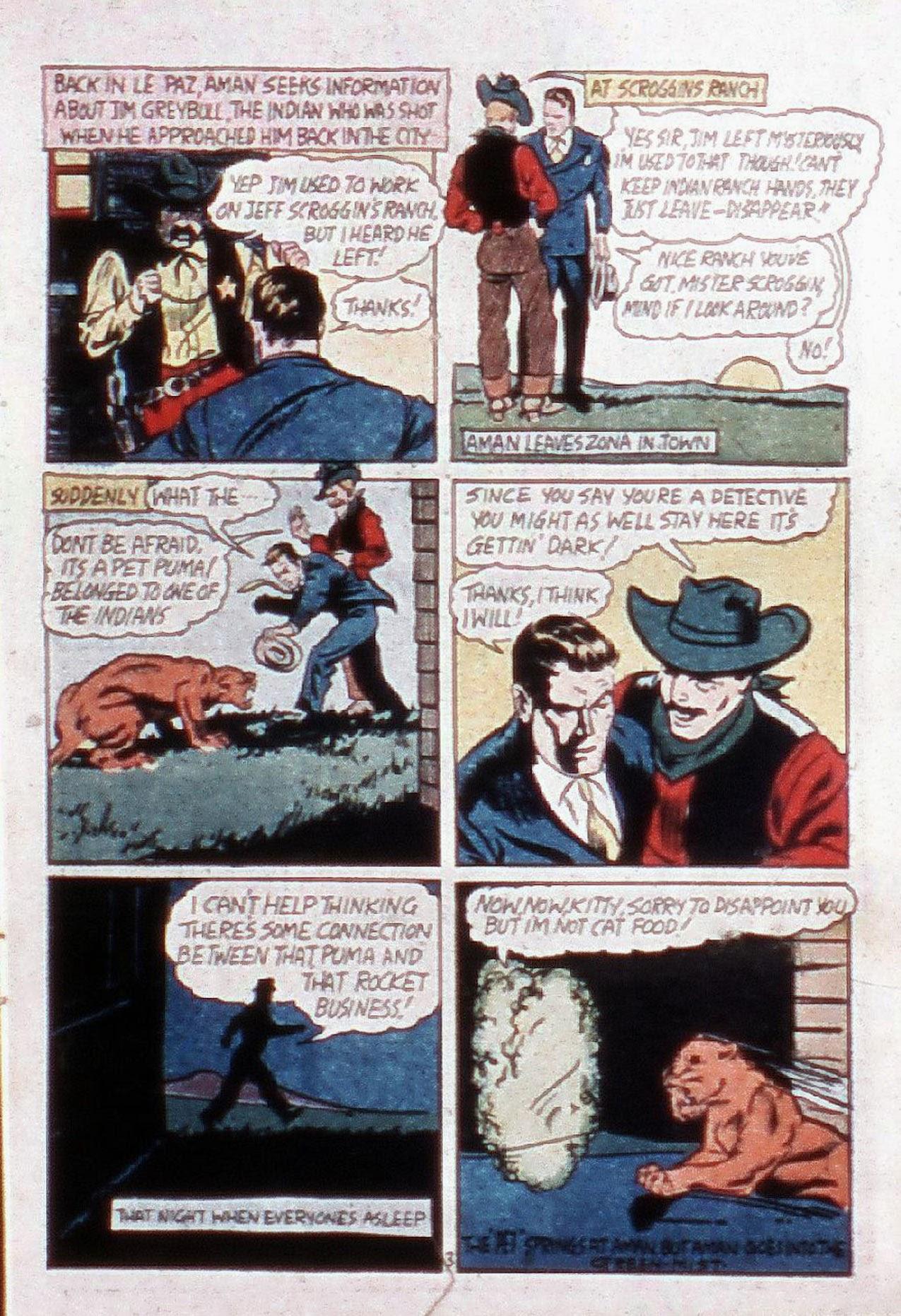 Read online Amazing Man Comics comic -  Issue #20 - 6