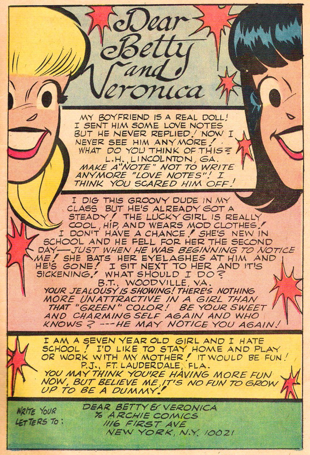 Read online Archie's Girls Betty and Veronica comic -  Issue #212 - 11
