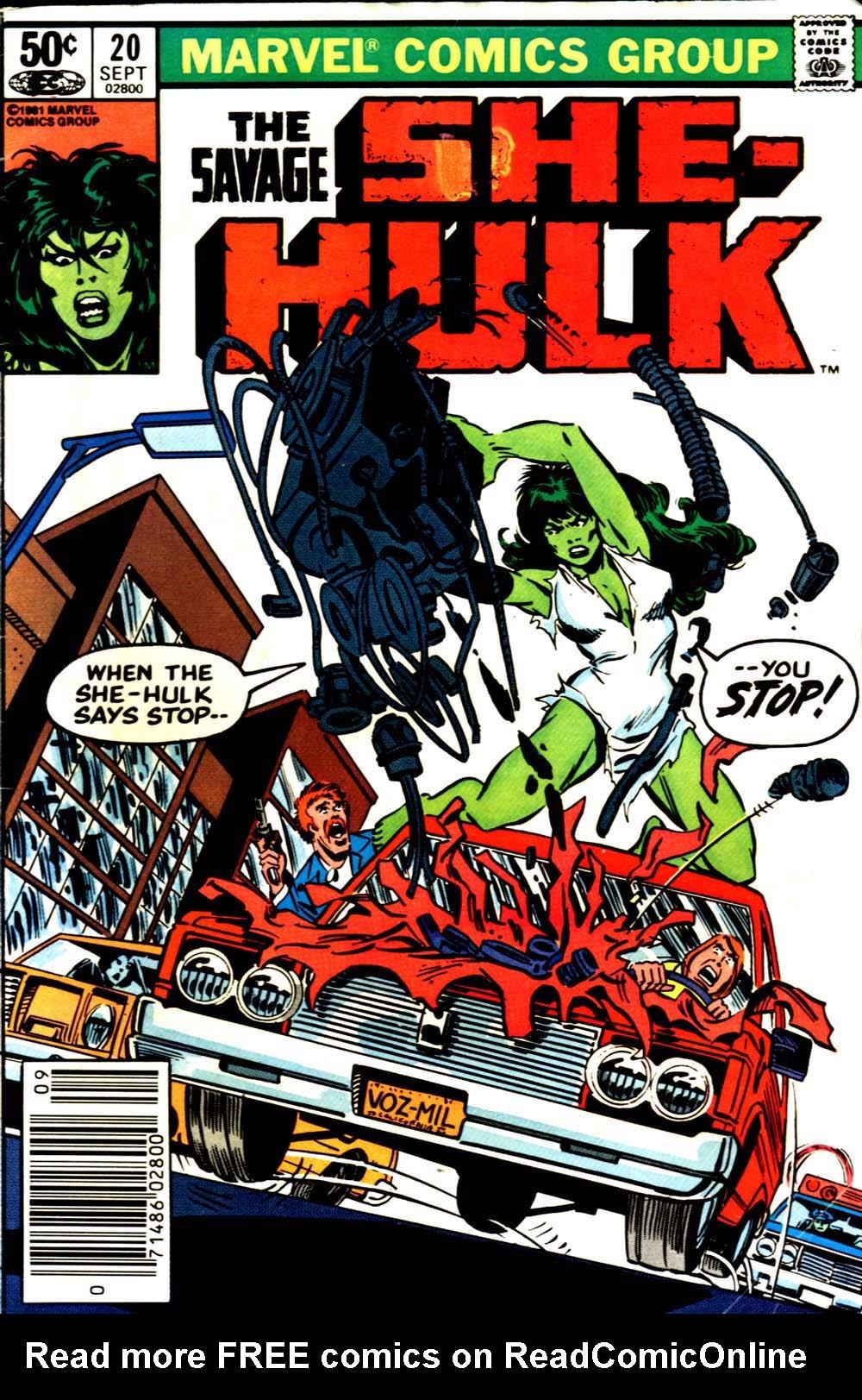 The Savage She-Hulk 20 Page 1