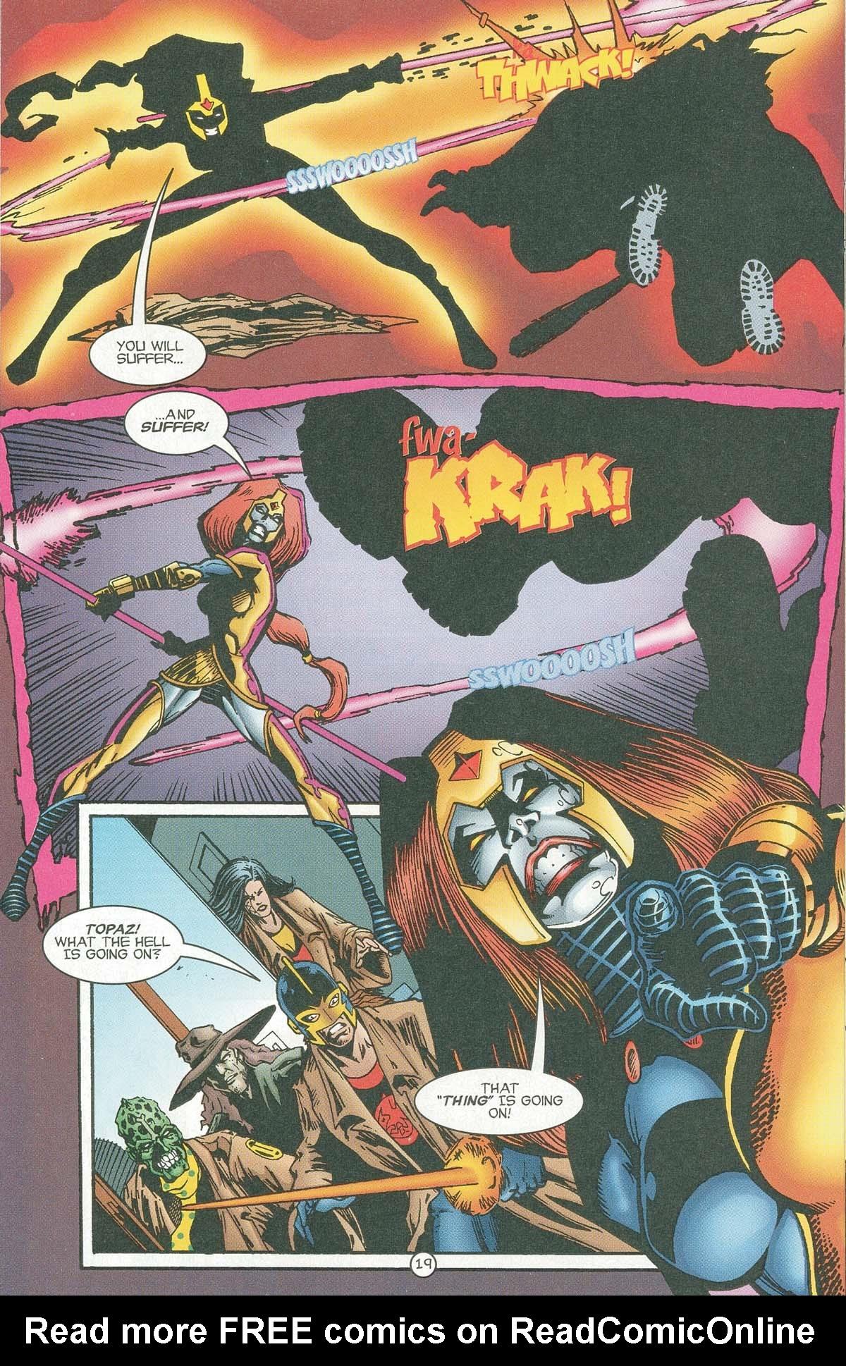Read online UltraForce (1995) comic -  Issue #6 - 21