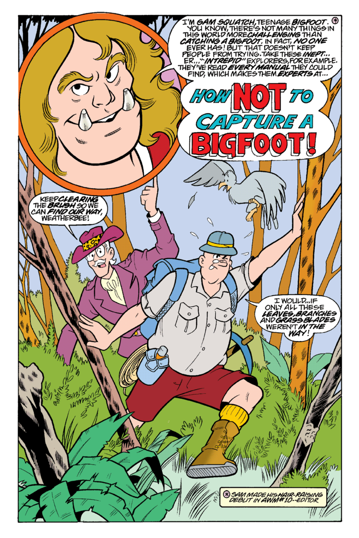 Read online Archie's Weird Mysteries comic -  Issue #19 - 20