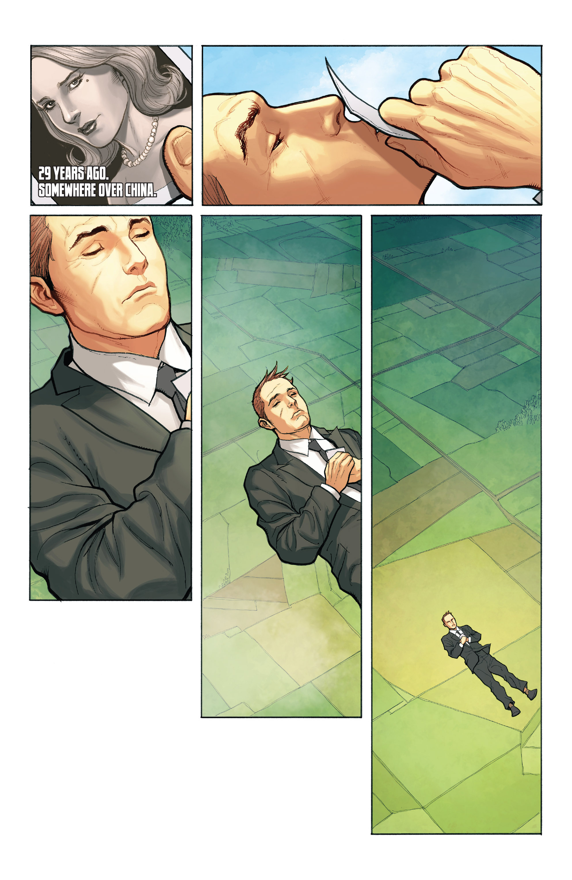 Read online Skybourne comic -  Issue #1 - 3