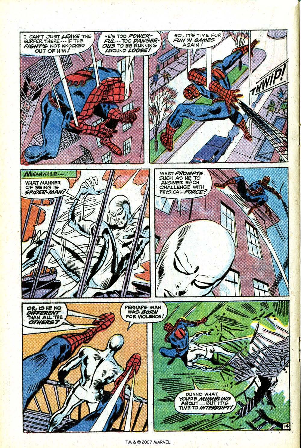 Read online Silver Surfer (1968) comic -  Issue #14 - 20